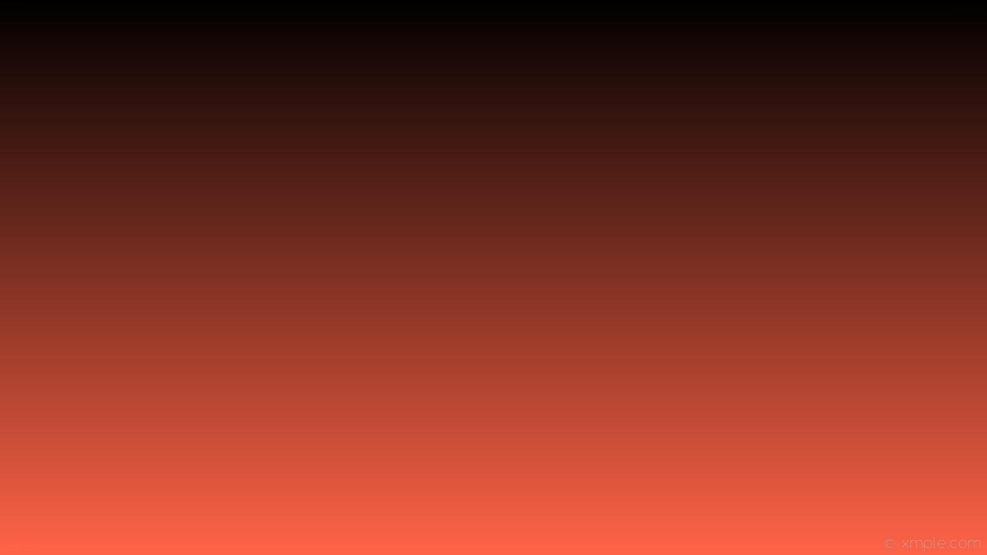 wallpaper black orange gradient linear tomato #000000 #ff6347 90°