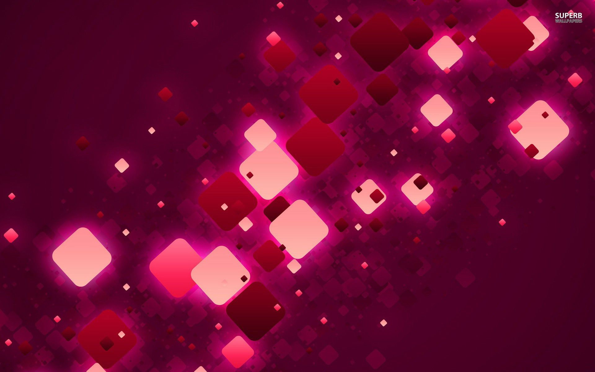Pink and purple squares wallpaper – Abstract wallpapers – #23495