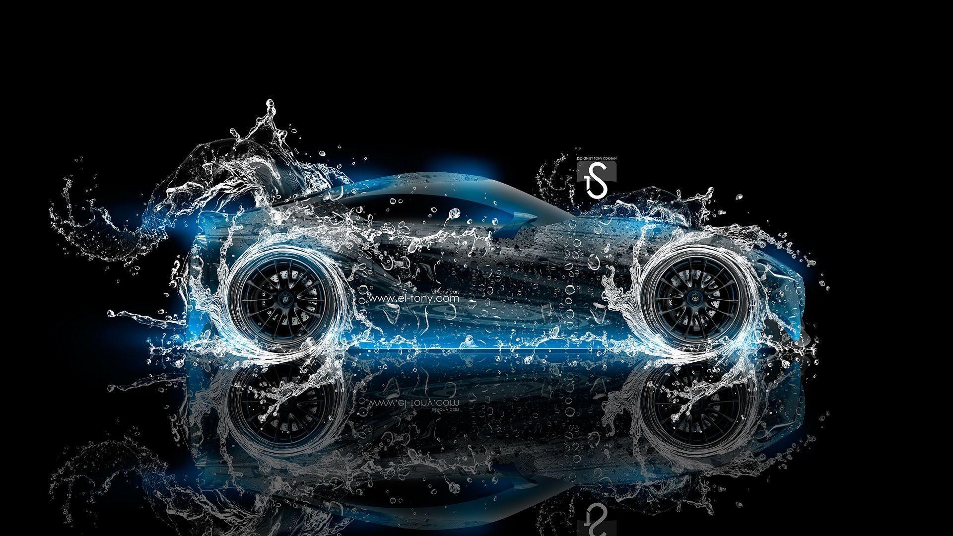 2014 Toyota FT-1 Water Blue Neon Wallpaper HD #12397 Wallpaper .