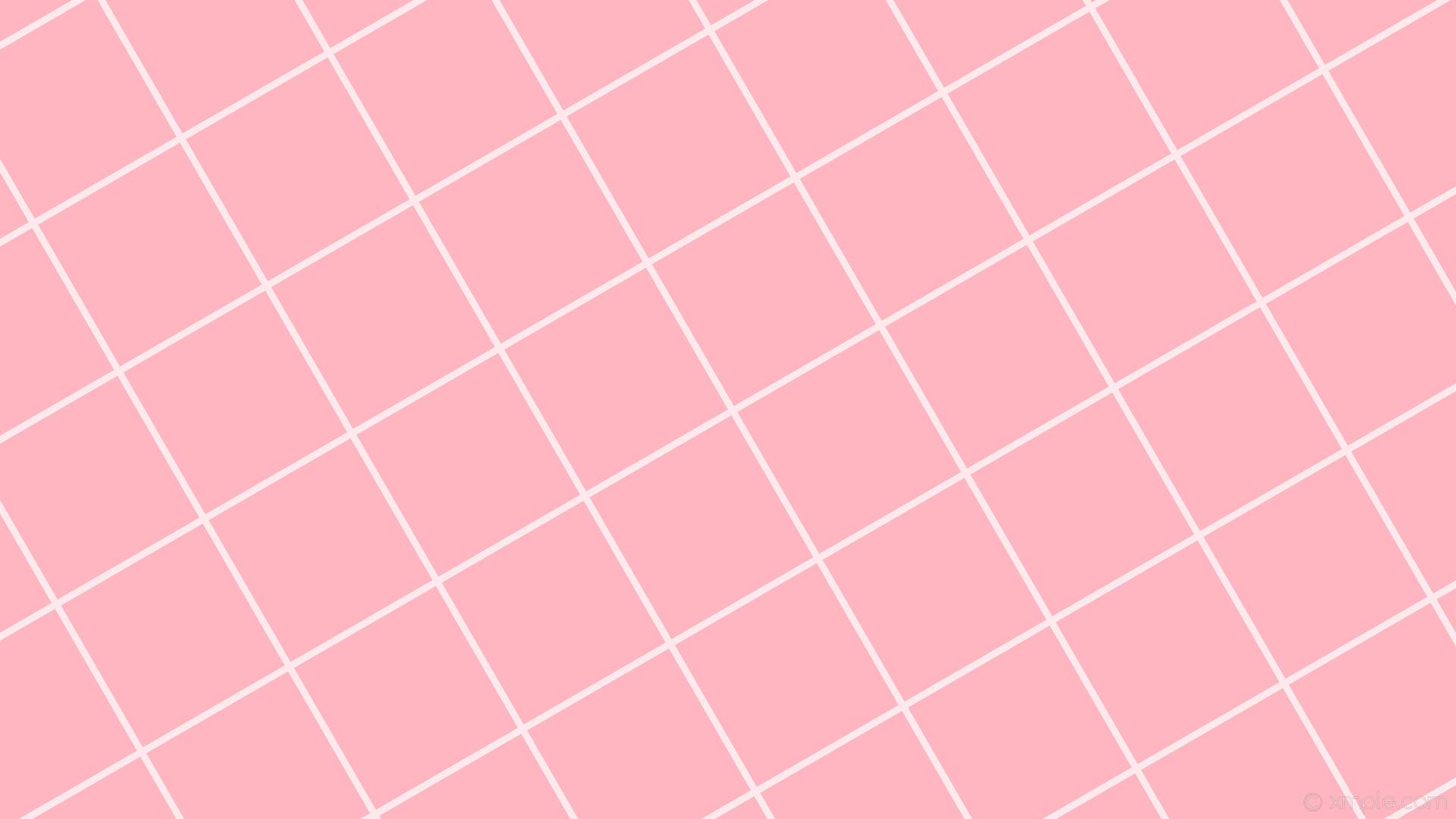 wallpaper white pink graph paper grid light pink #ffb6c1 #ffffff 30° 9px  225px