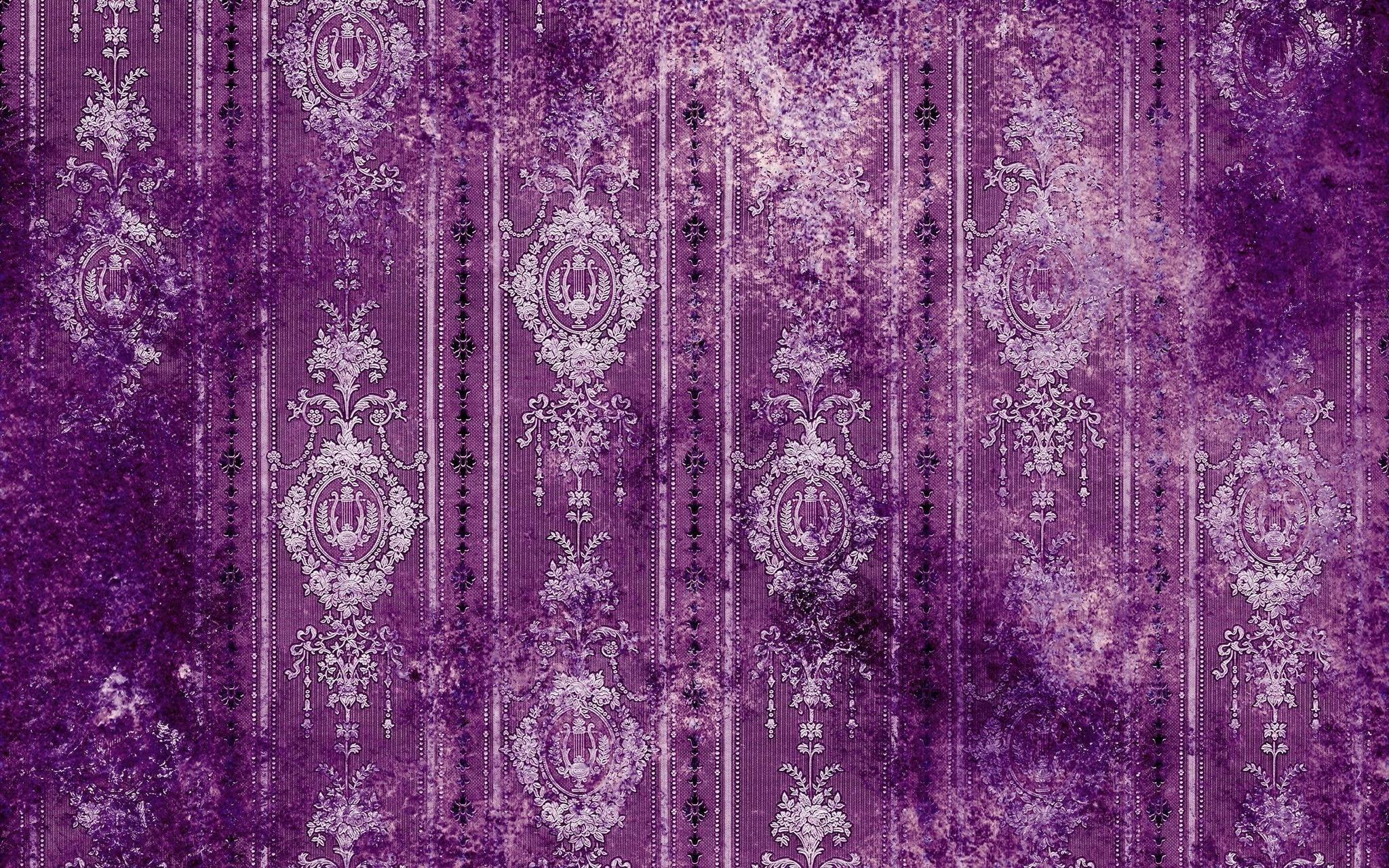 Purple-pattern-Wallpaper