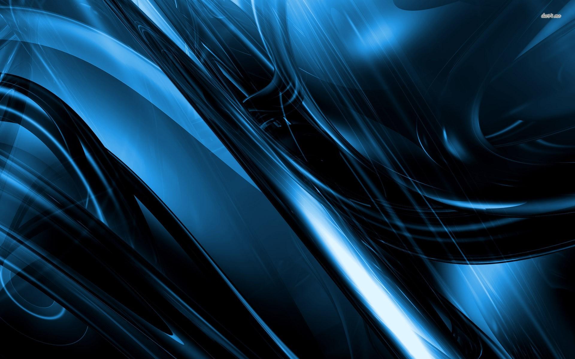 Metallic Blue Wallpaper