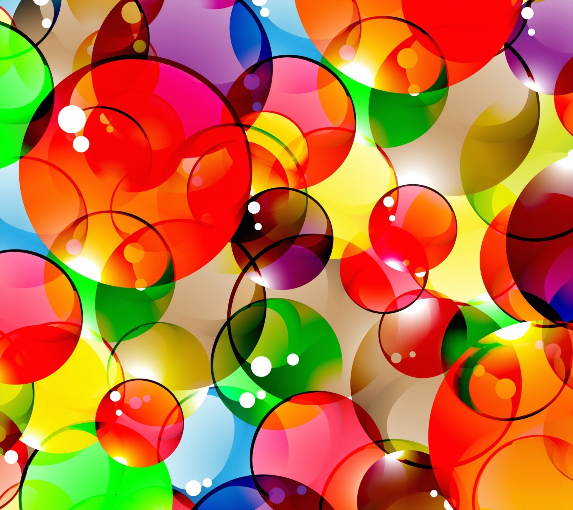 colorful abstract background bubbles bubbles background