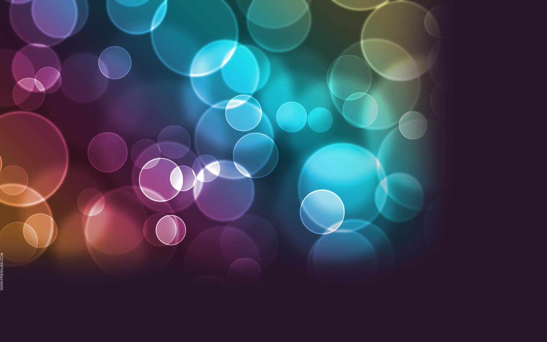 Free Large Background Images | free twitter background colorful circles  High Quality Free Twitter .