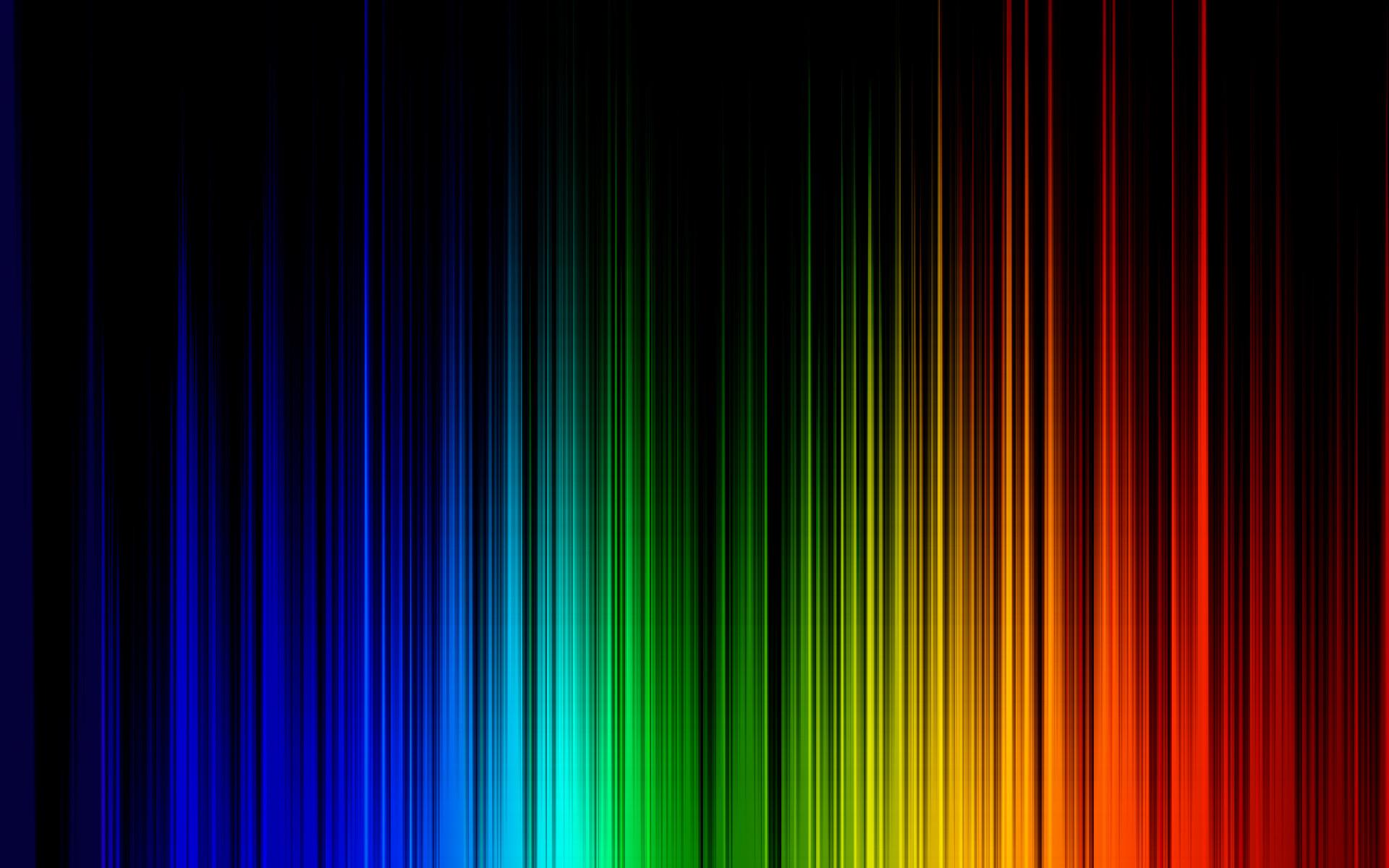 Neon Waves Background