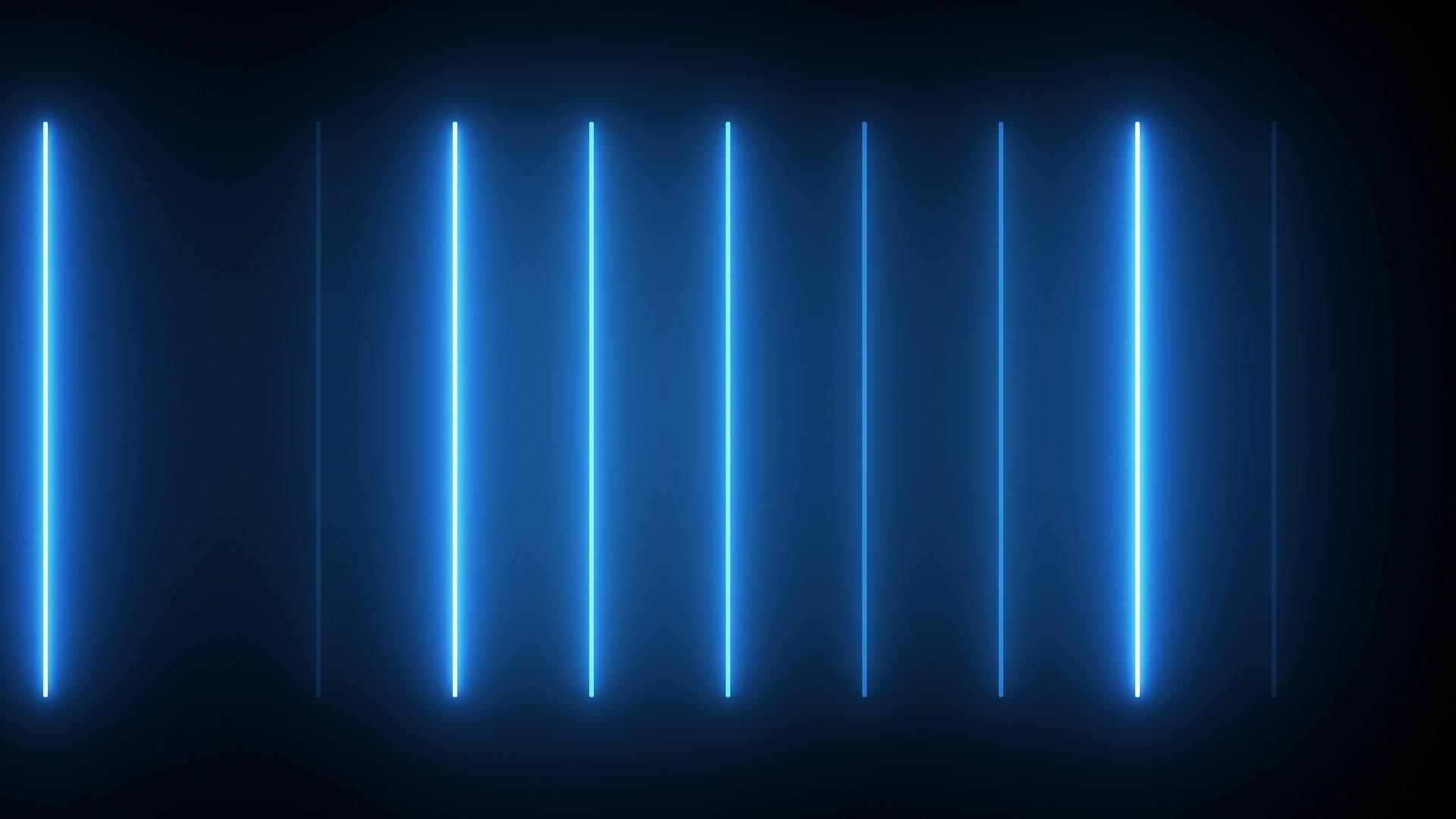 Vertical Neon – HD Video Background Loop
