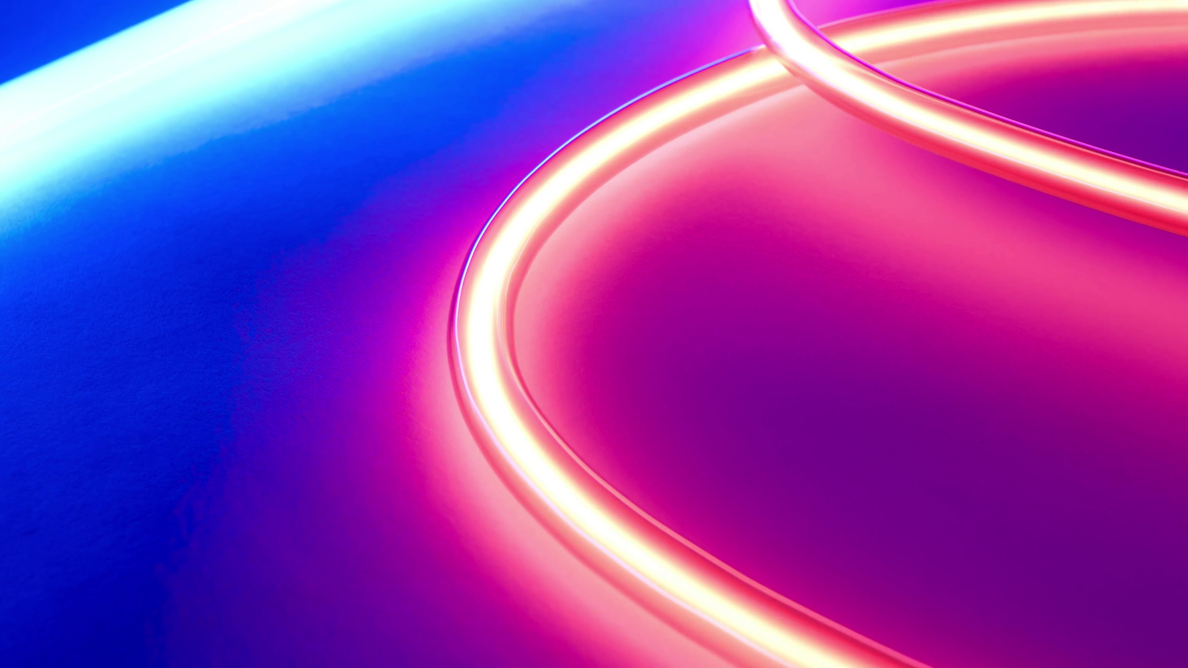 Subscription Library Abstract neon lights background 4k