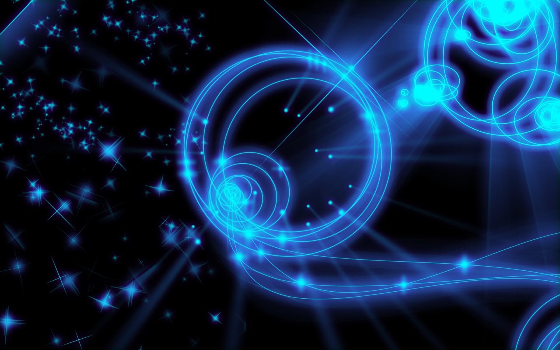 Blue Neon Lights wallpaper 227681