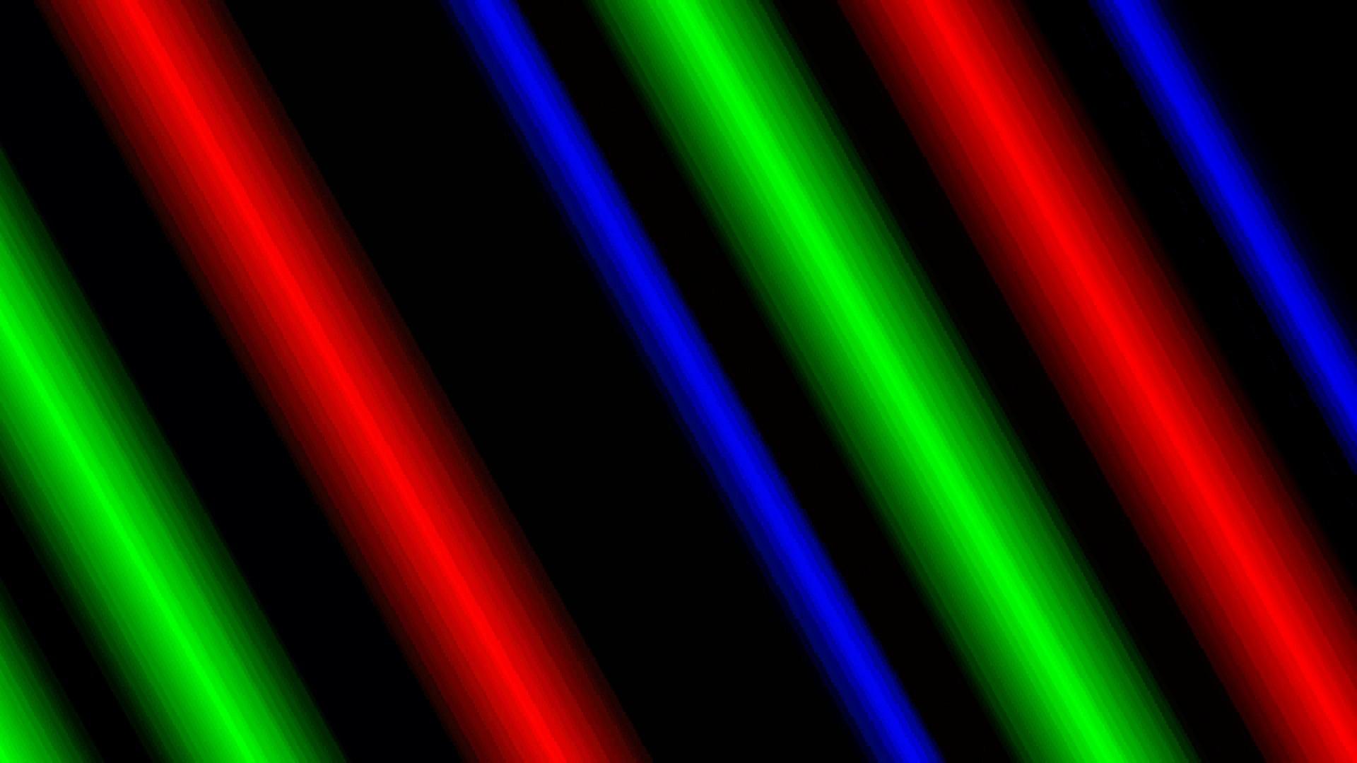 Multi Color Neon Background