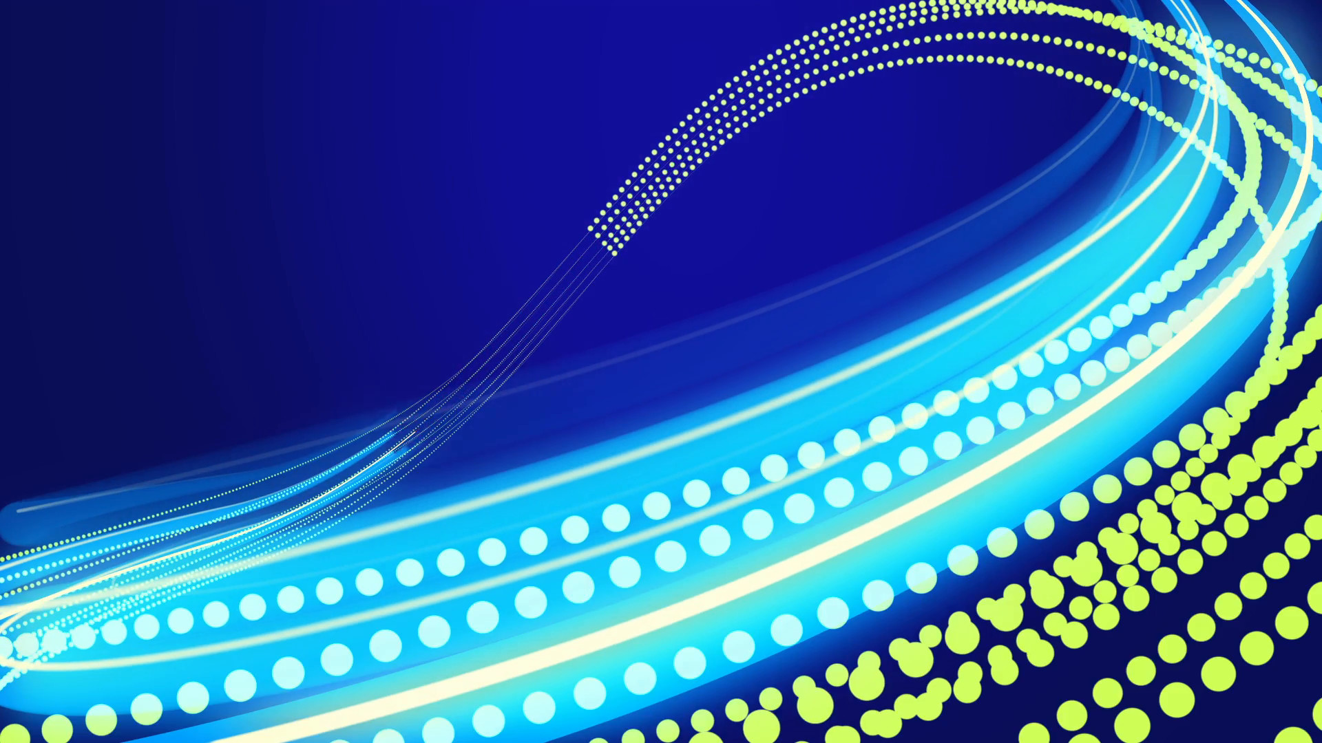 Subscription Library Animated blue abstract background with blurred magic  neon light curved lines.
