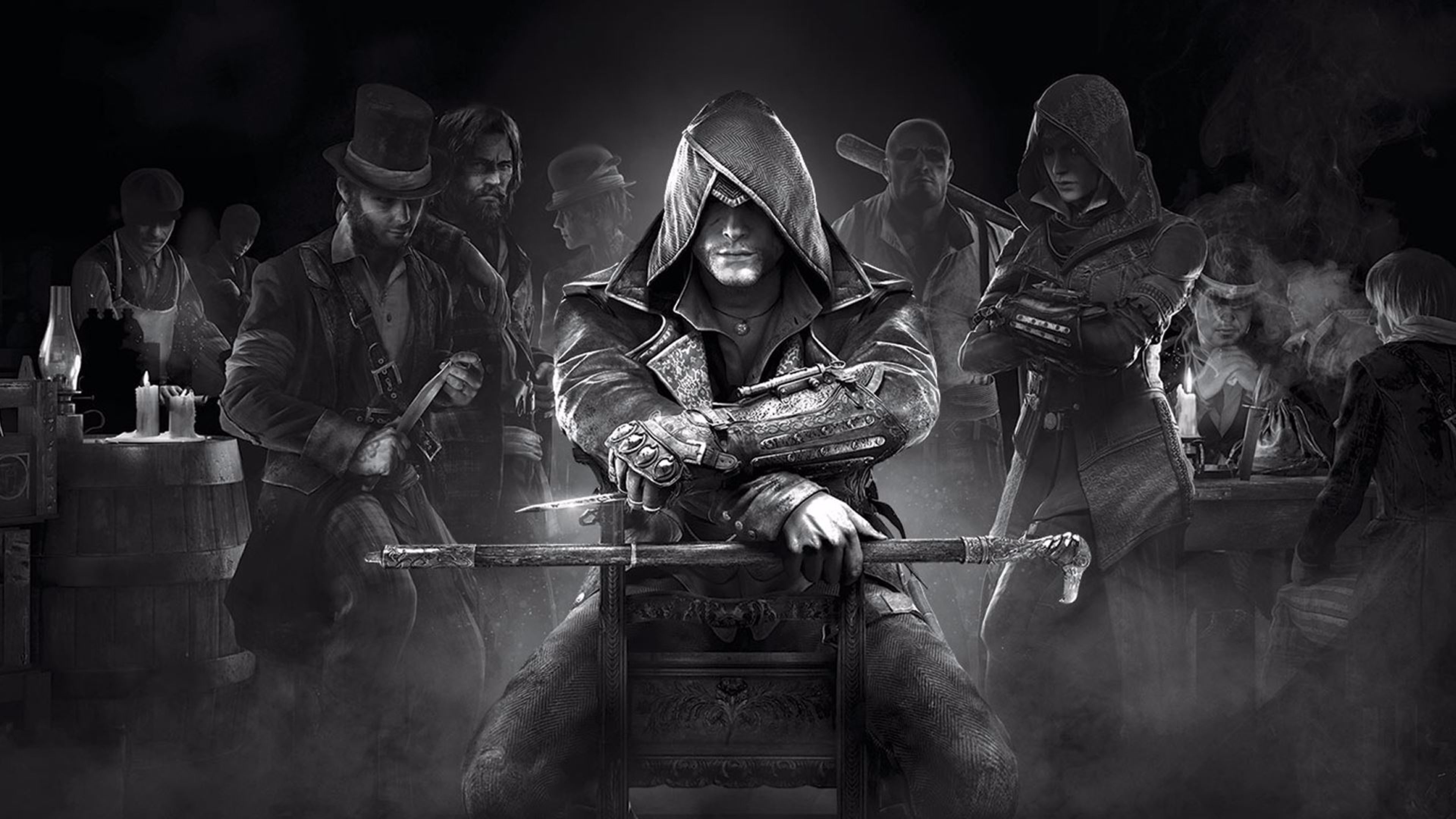 Assassins Creed Syndicate HD wallpapers free download 3840×2160