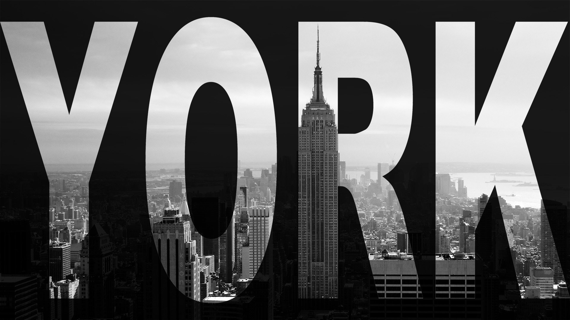 New York Black And White 788877