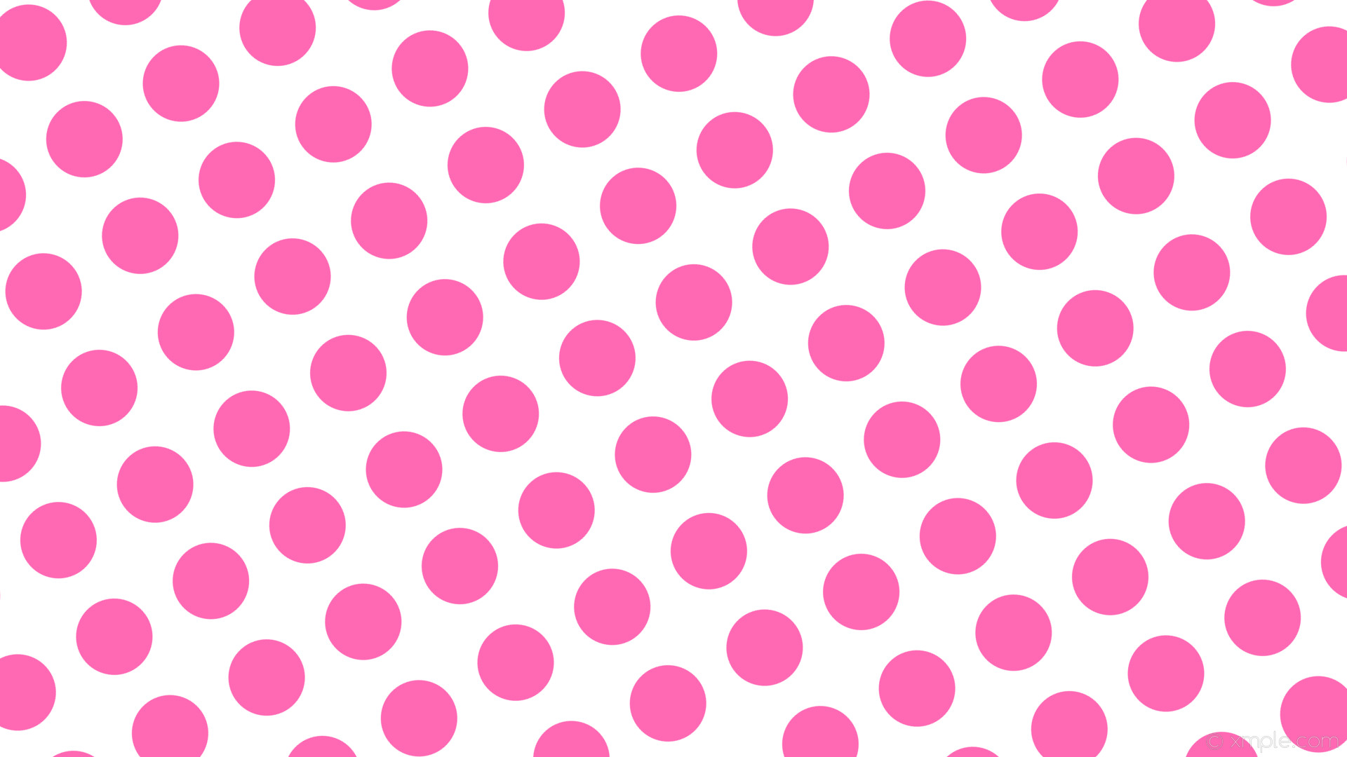 wallpaper white polka dots spots pink hot pink #ffffff #ff69b4 210° 109px  159px
