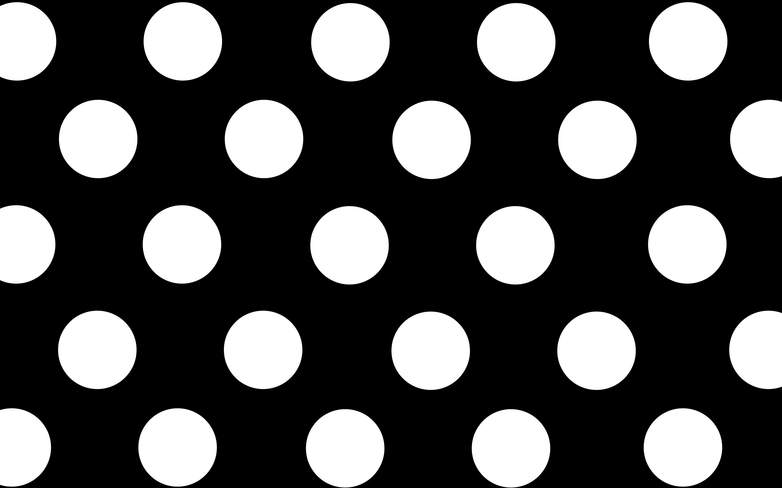 Black And White Polka Dot Wallpapers (5 Wallpapers)