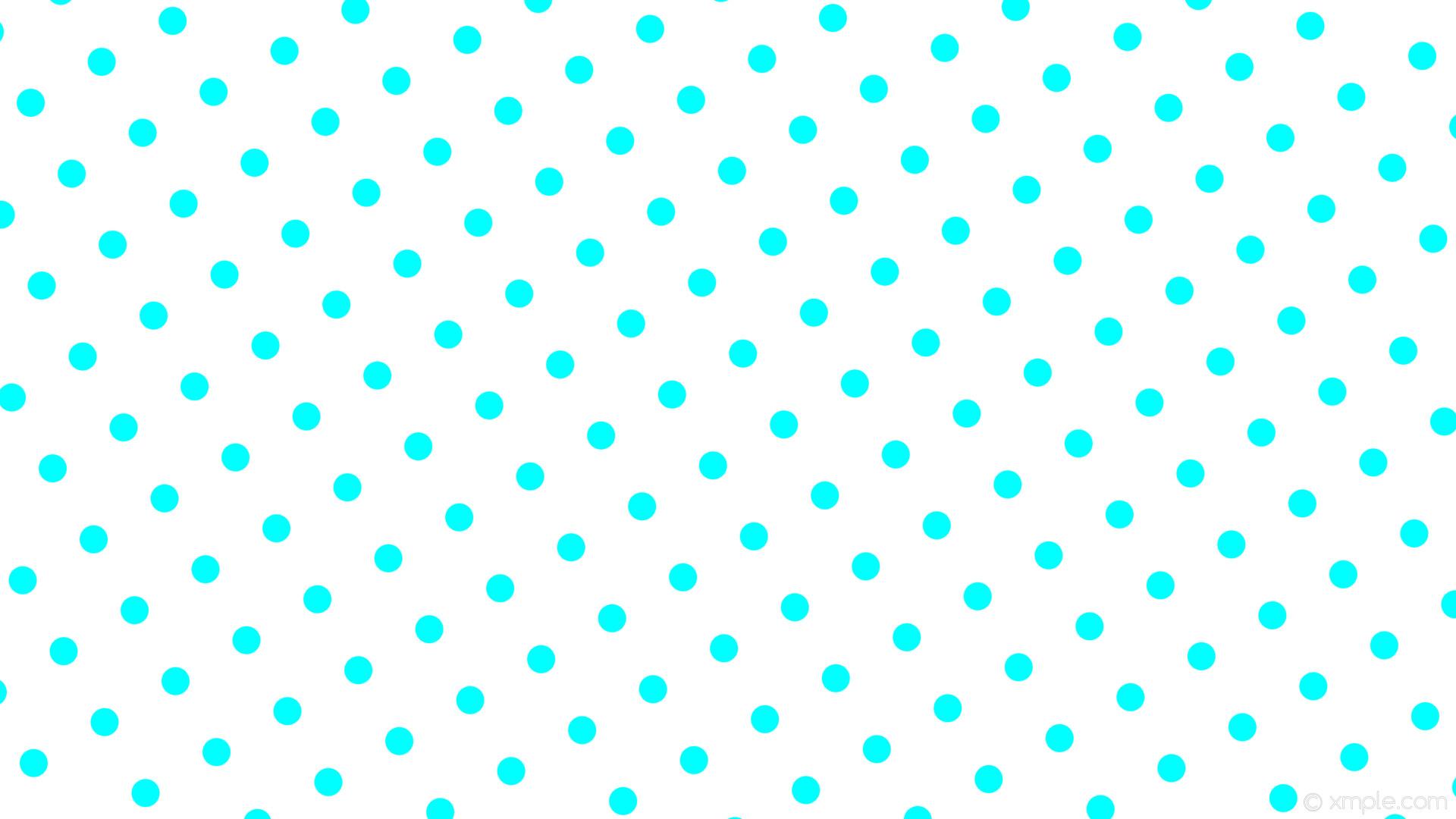 wallpaper white polka dots blue spots aqua cyan #ffffff #00ffff 210° 37px  108px