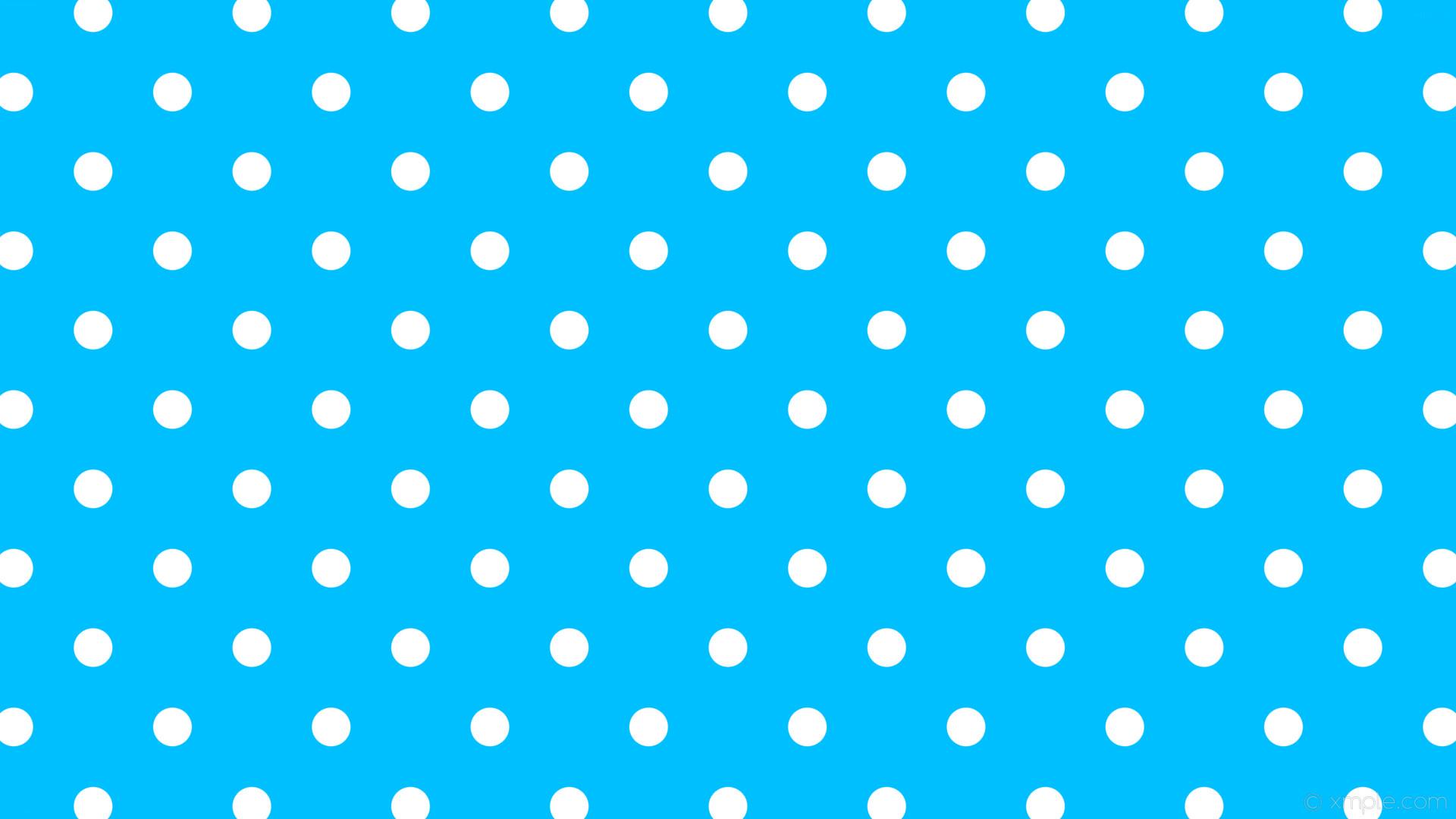 wallpaper spots blue white polka dots deep sky blue #00bfff #ffffff 225°  51px