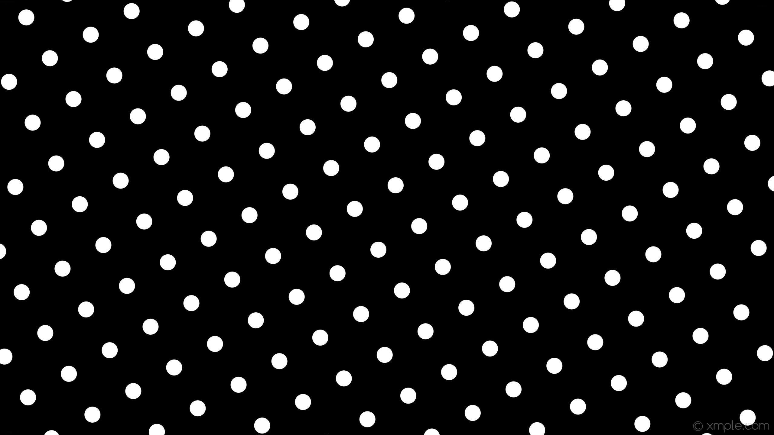 wallpaper spots black white polka dots #000000 #ffffff 300° 53px 156px