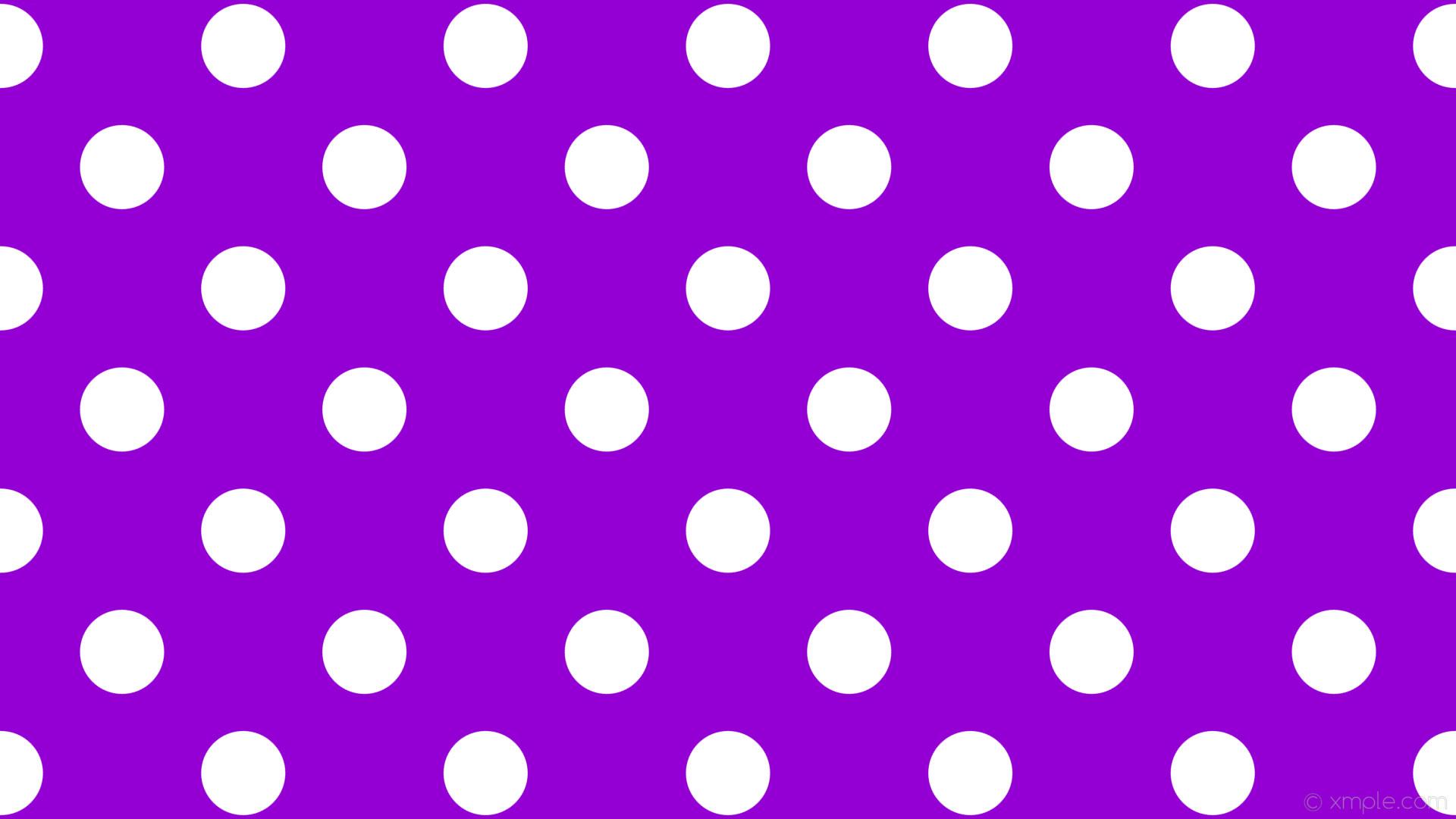 wallpaper white spots purple polka dots dark violet #9400d3 #ffffff 45°  111px 226px