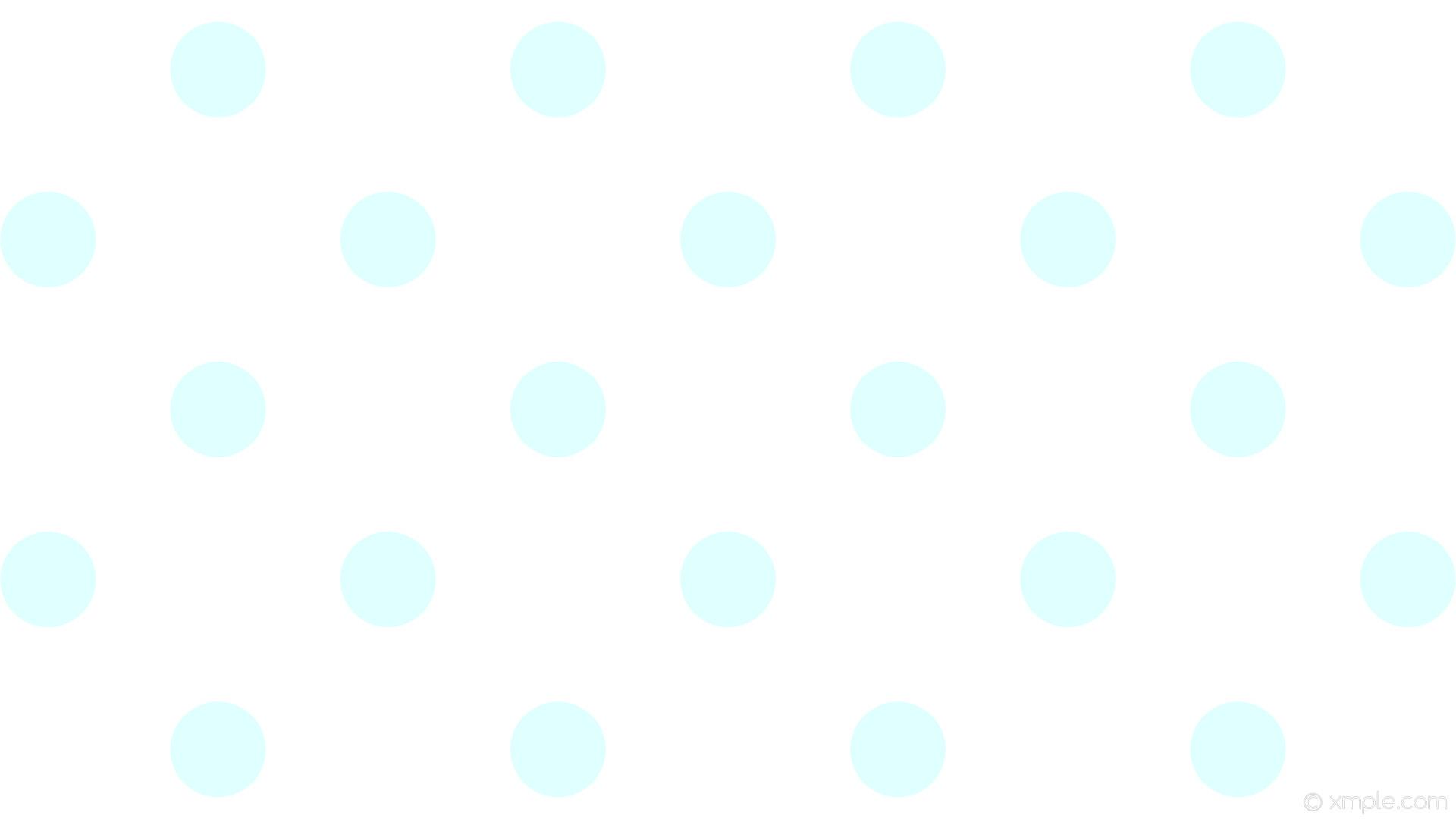 wallpaper white polka dots blue spots light cyan #ffffff #e0ffff 135° 126px  317px