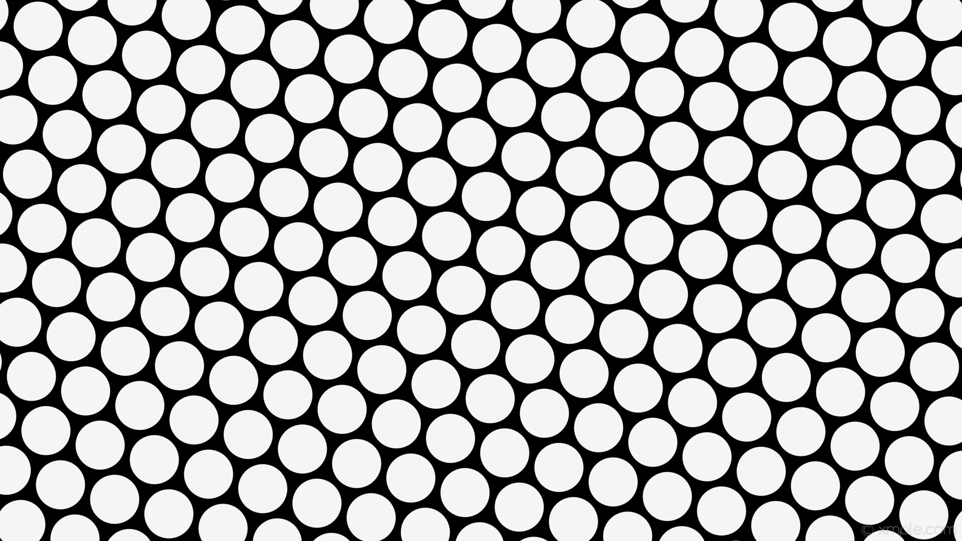 wallpaper hexagon black white polka dots white smoke #000000 #f5f5f5  diagonal 45° 98px