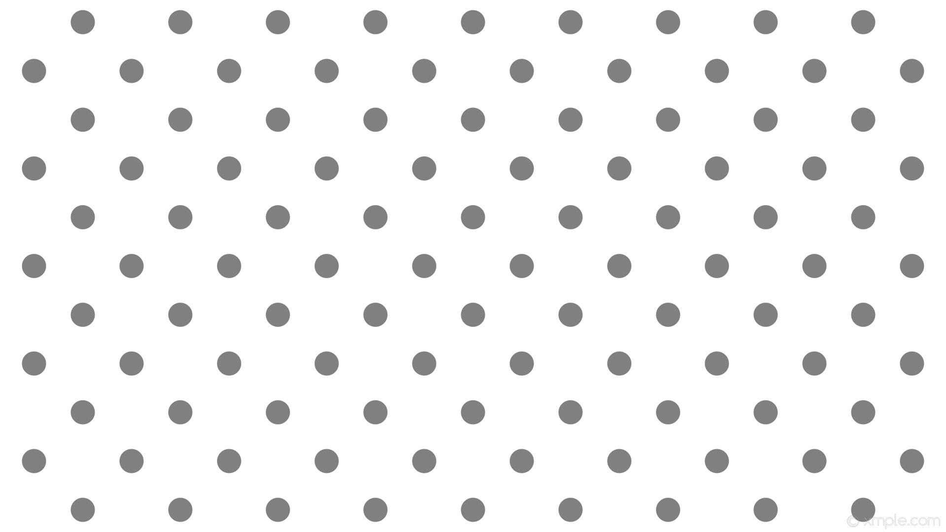 wallpaper white polka dots grey spots gray #ffffff #808080 45° 49px 140px
