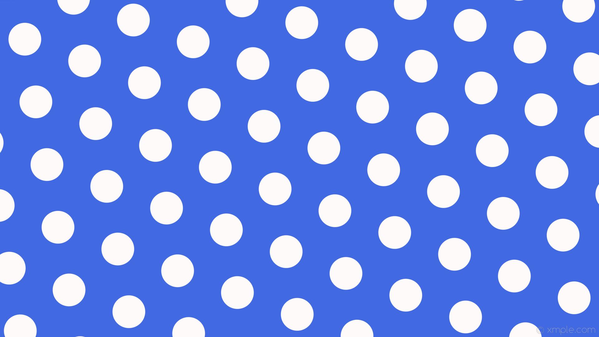 wallpaper blue polka dots hexagon white royal blue snow #4169e1 #fffafa  diagonal 40°