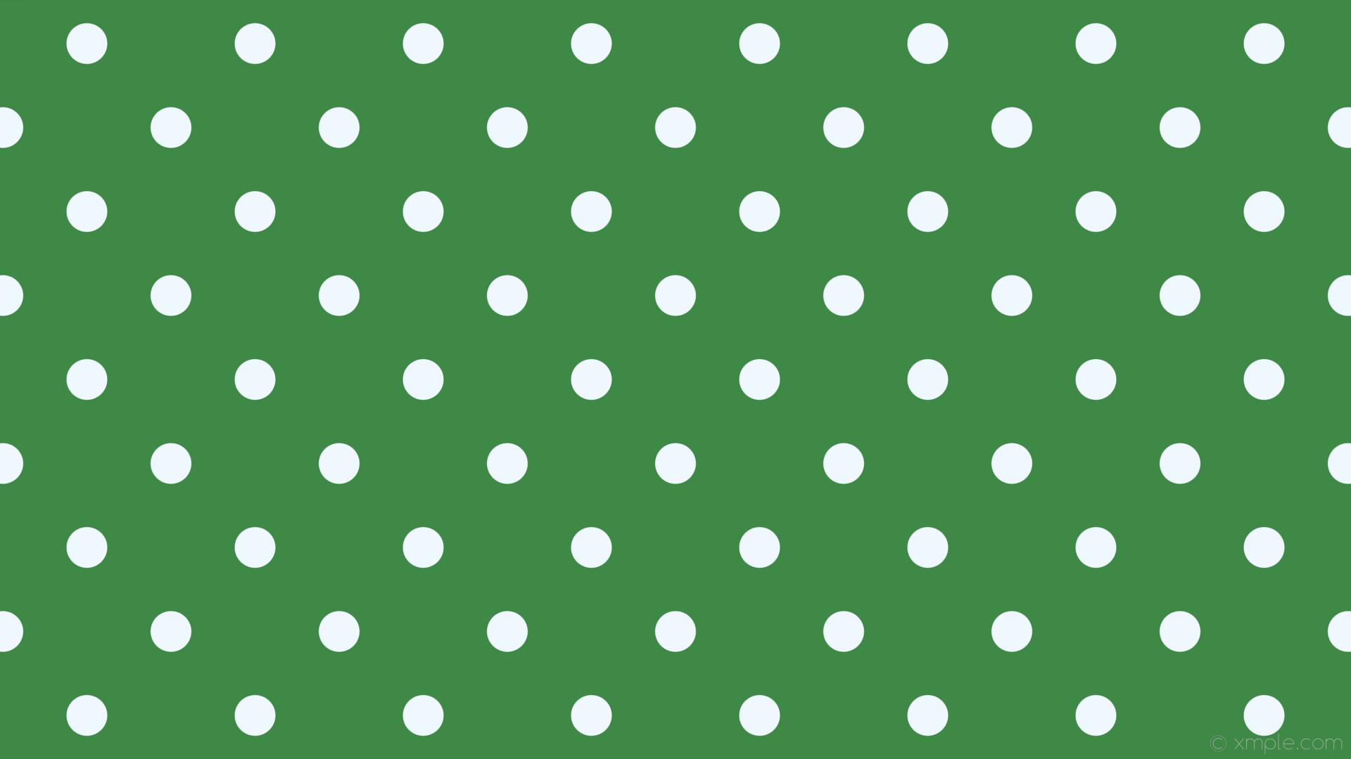 wallpaper spots white polka dots green alice blue #3d8945 #f0f8ff 315° 58px  169px