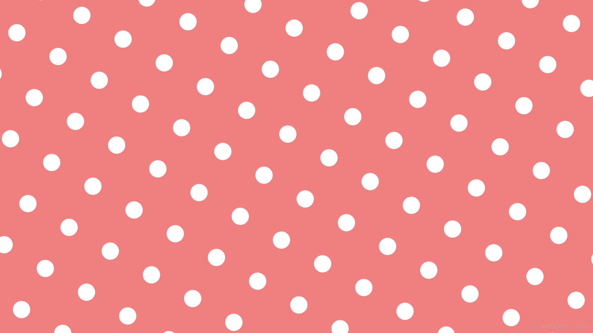 wallpaper spots red white polka dots light coral #f08080 #ffffff 240° 56px  154px