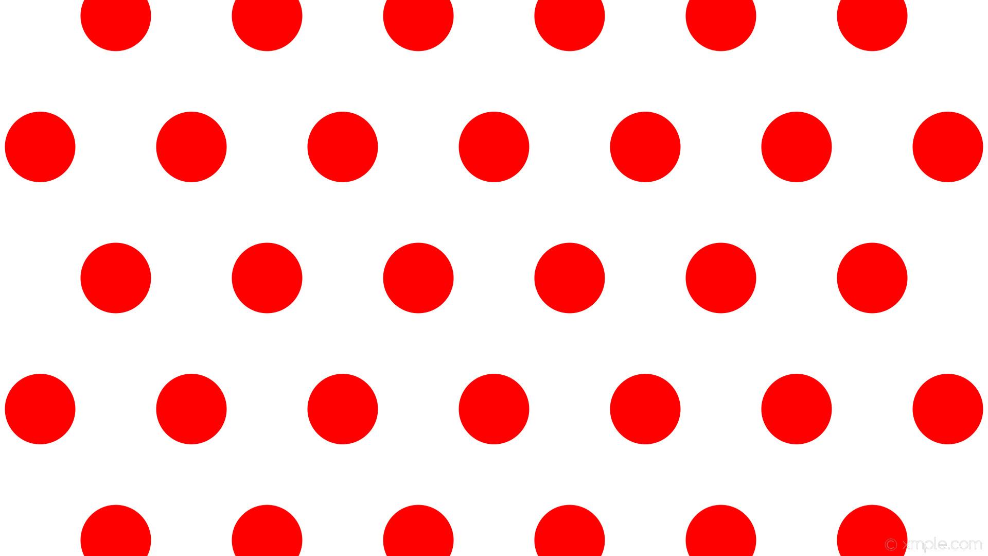 wallpaper white polka dots red hexagon #ffffff #ff0000 0° 137px 294px