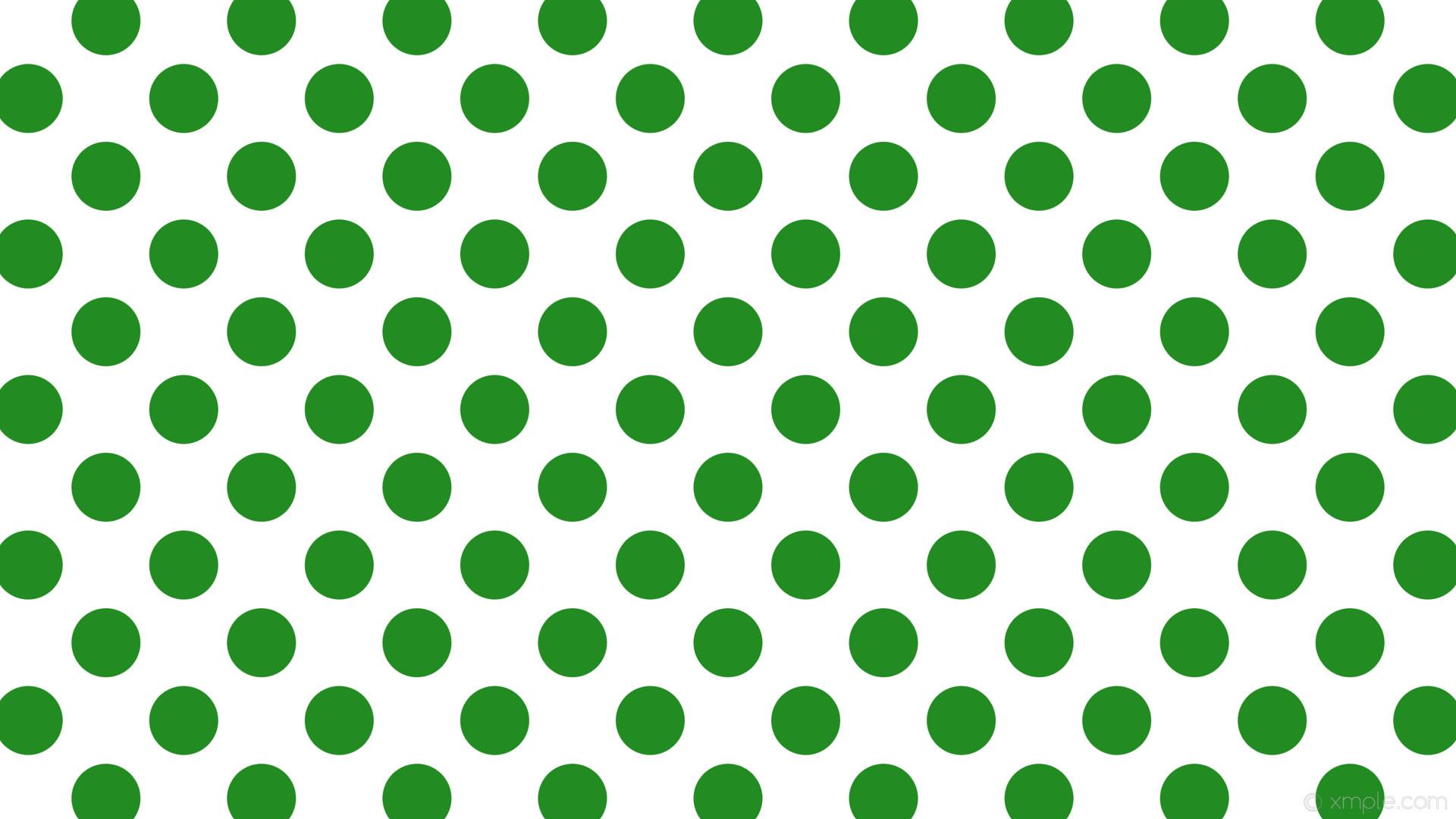 wallpaper white polka dots green spots forest green #ffffff #228b22 135°  91px 145px