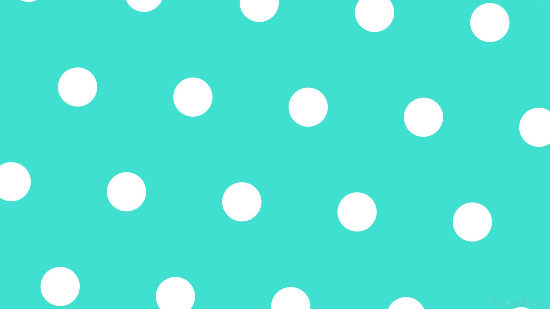 wallpaper polka dots white blue hexagon turquoise #40e0d0 #ffffff diagonal  55° 137px 404px