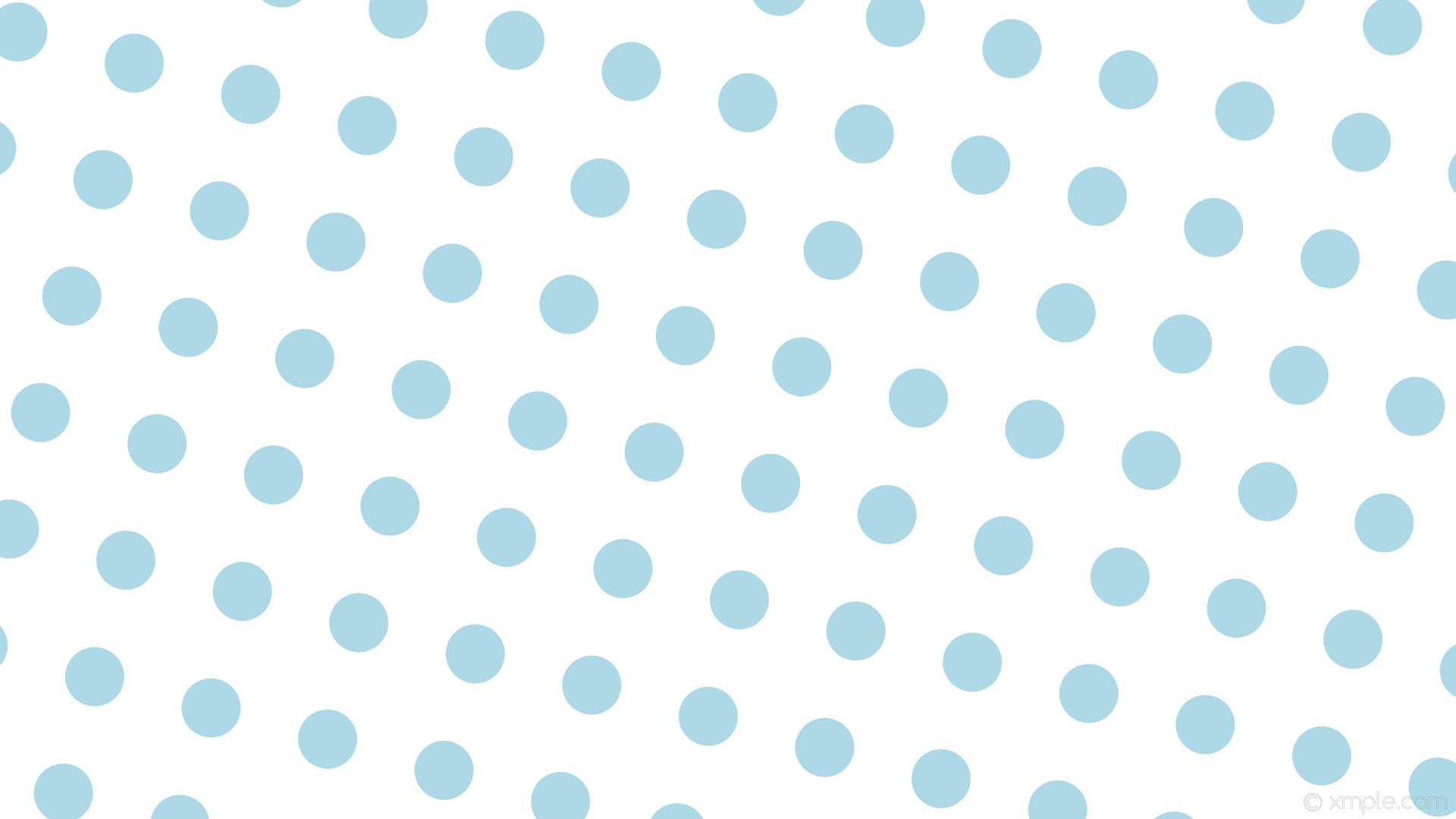 wallpaper white polka dots spots blue light blue #ffffff #add8e6 75° 78px  159px