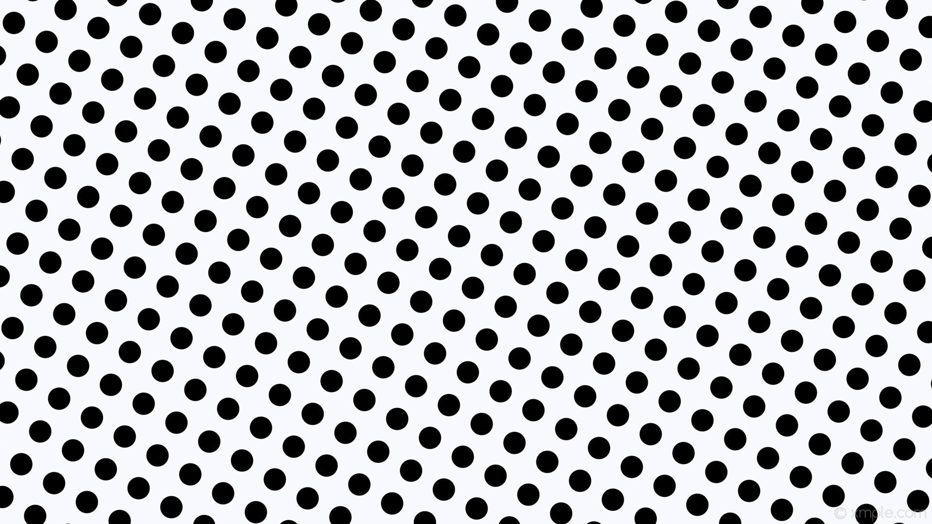wallpaper white polka dots spots black ghost white #f8f8ff #000000 150°  46px 78px