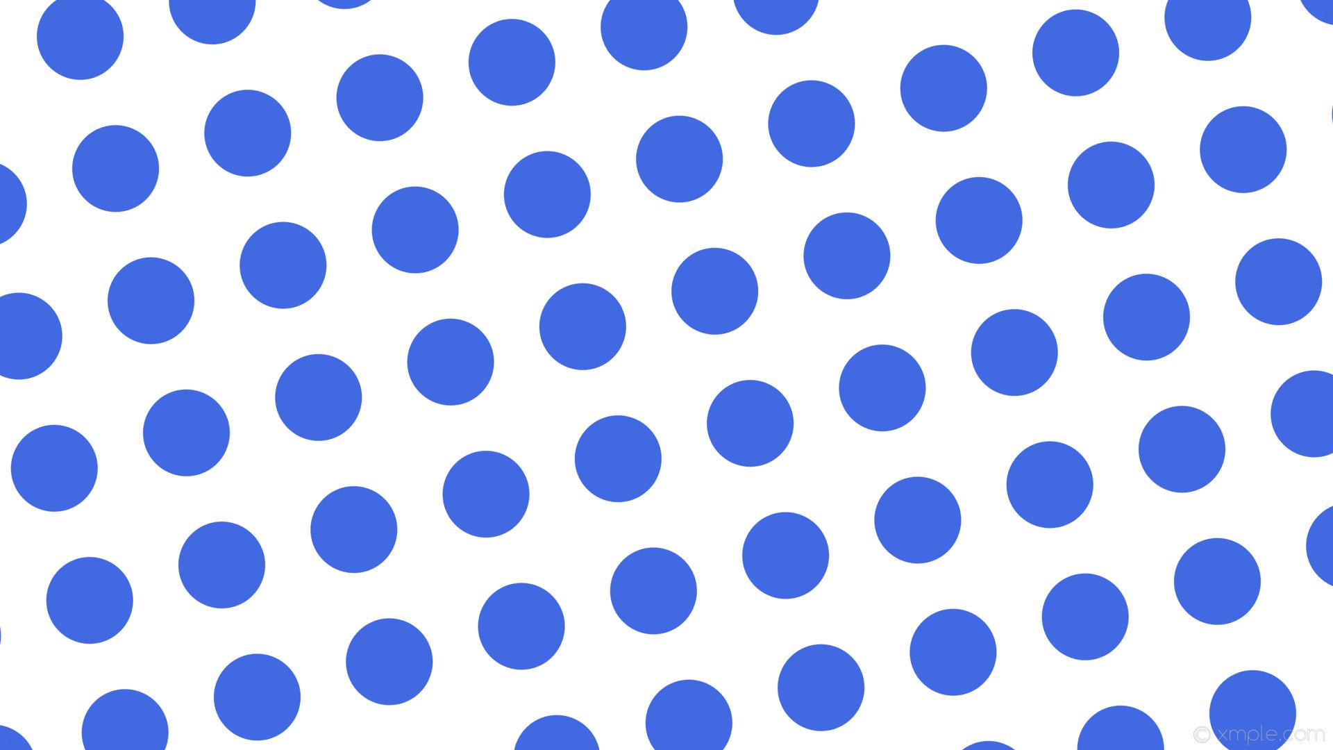 wallpaper white polka dots blue spots royal blue #ffffff #4169e1 105° 125px  197px