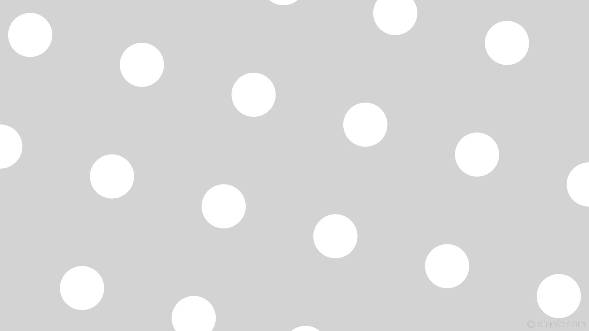 wallpaper grey spots white polka dots light gray #d3d3d3 #ffffff 165° 144px  377px