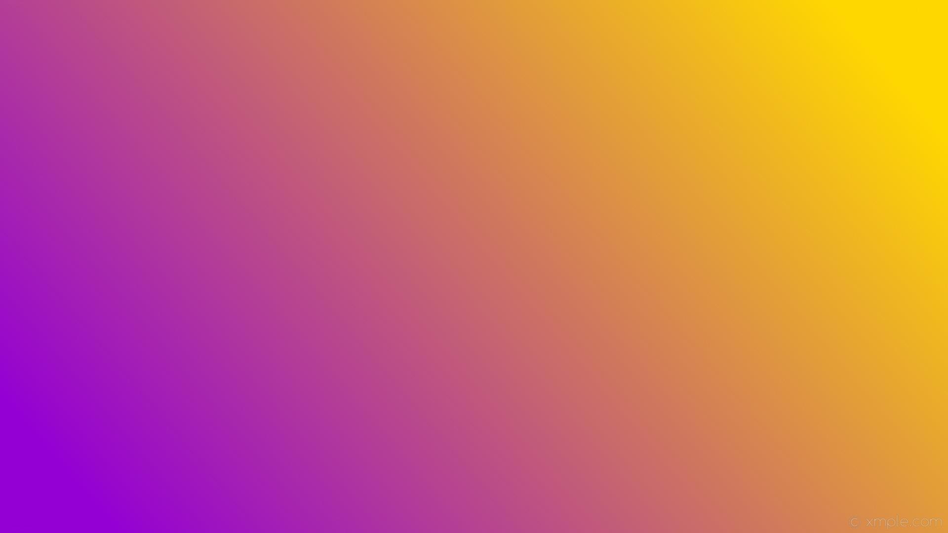 wallpaper linear yellow gradient purple gold dark violet #ffd700 #9400d3 15°
