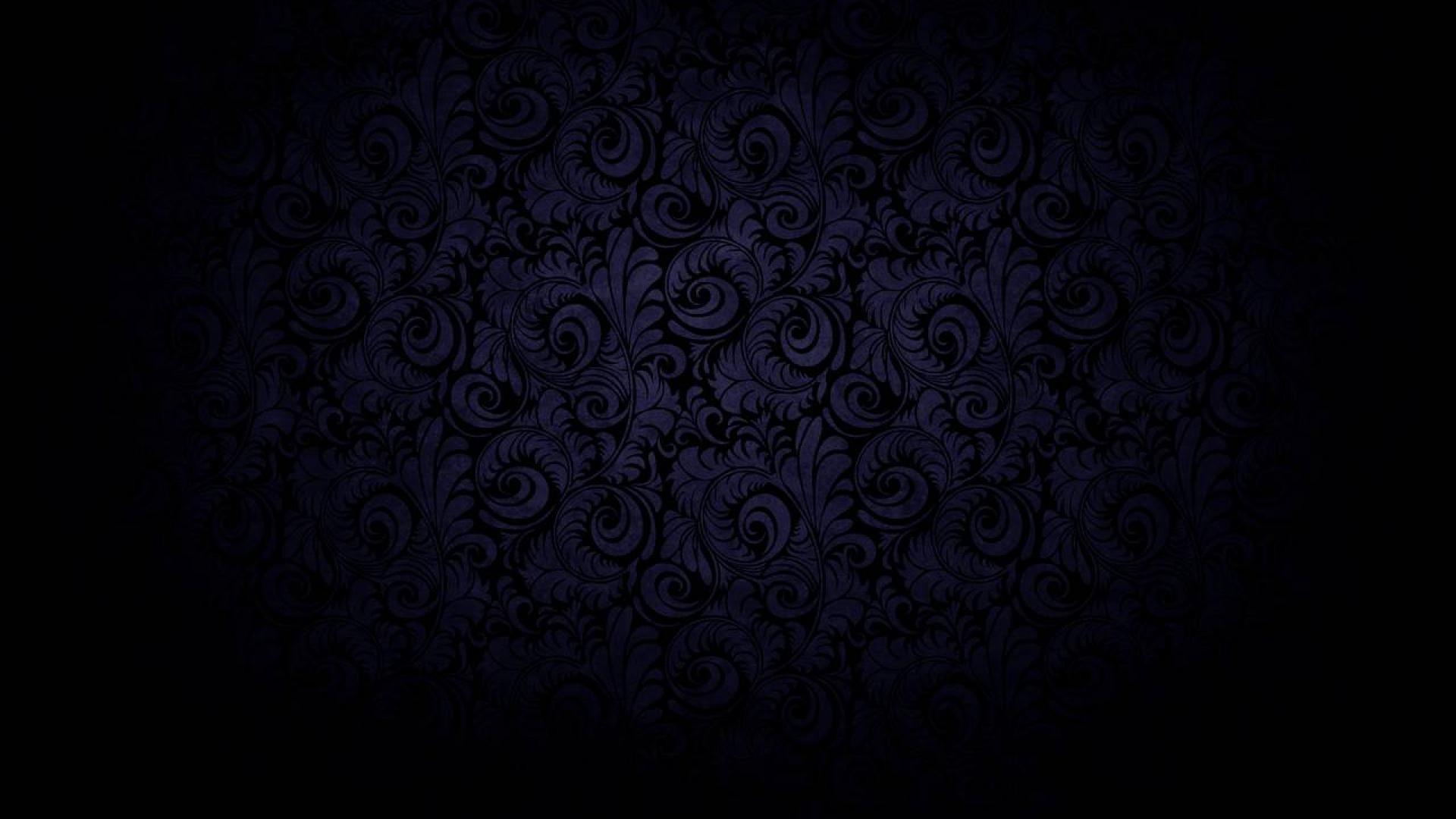 Dark black curved bloom blue Wallpaper – MixHD wallpapers