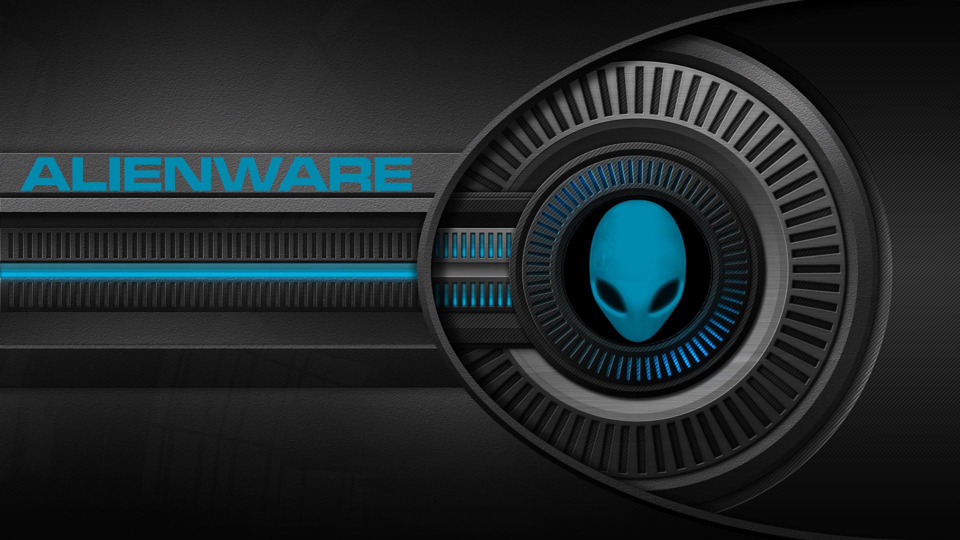 Black And Blue Alienware Wallpaper 14 Desktop Background