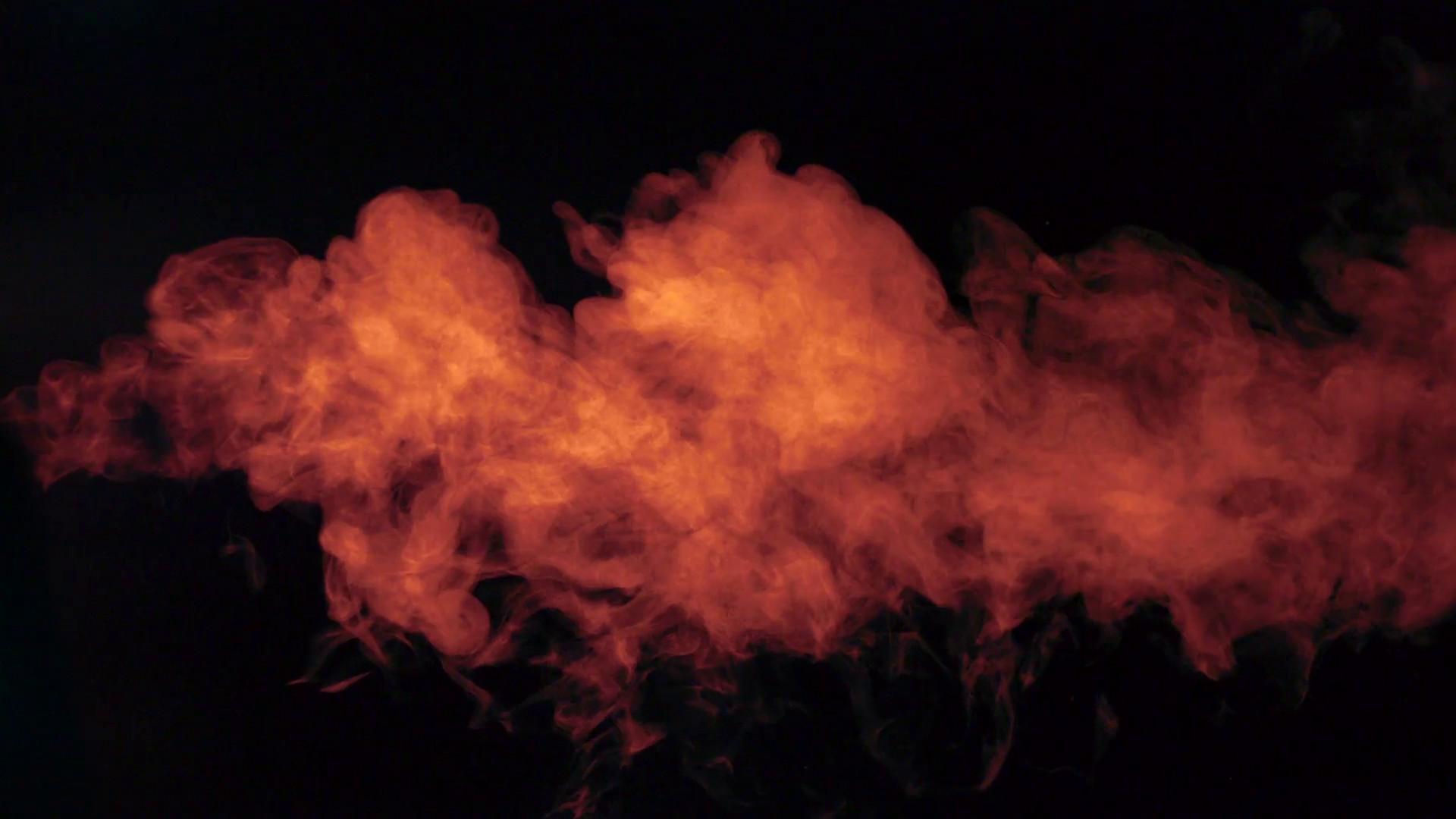 Colored smoke on black background, Slow Motion Stock Video Footage –  VideoBlocks