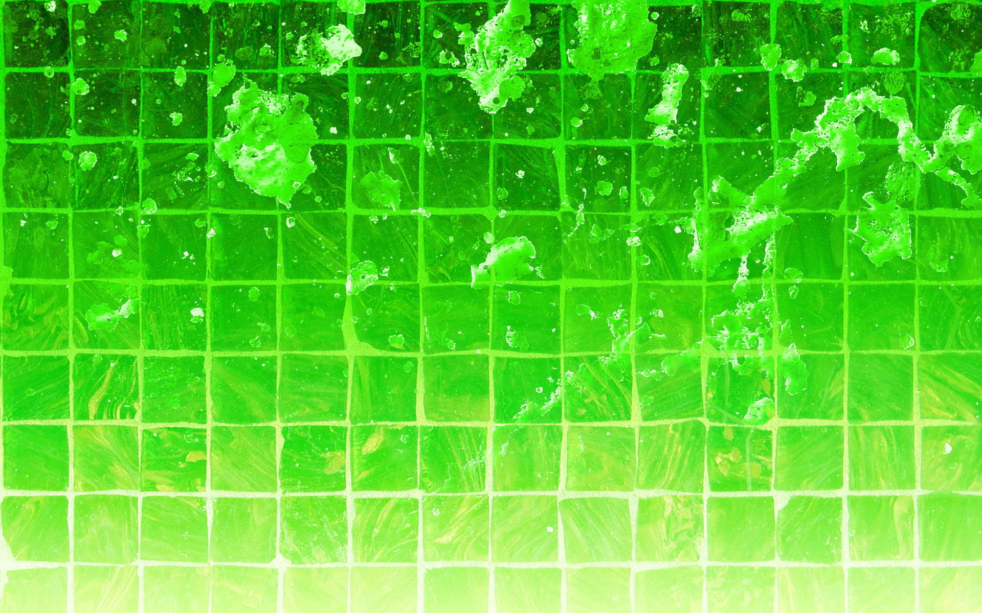 Green Splatter Wallpaper