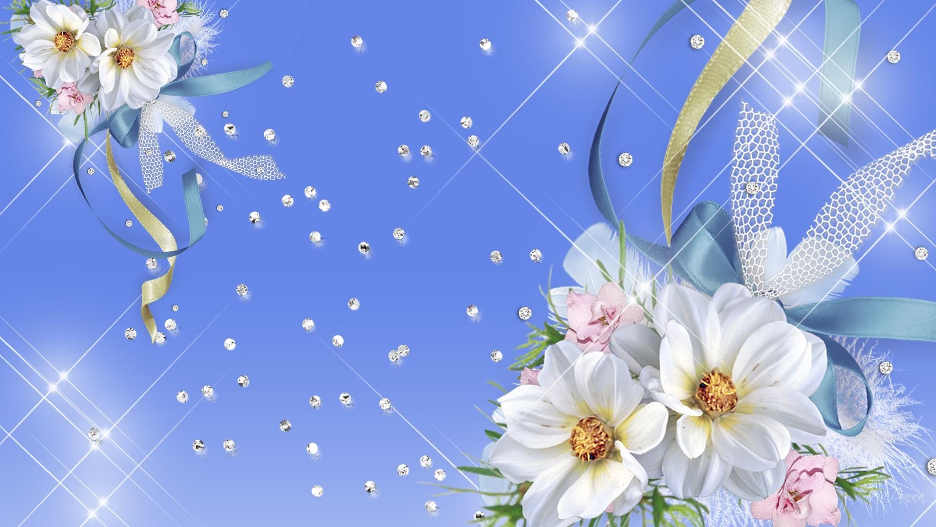 … blue and white flower wallpaper flowers ideas …