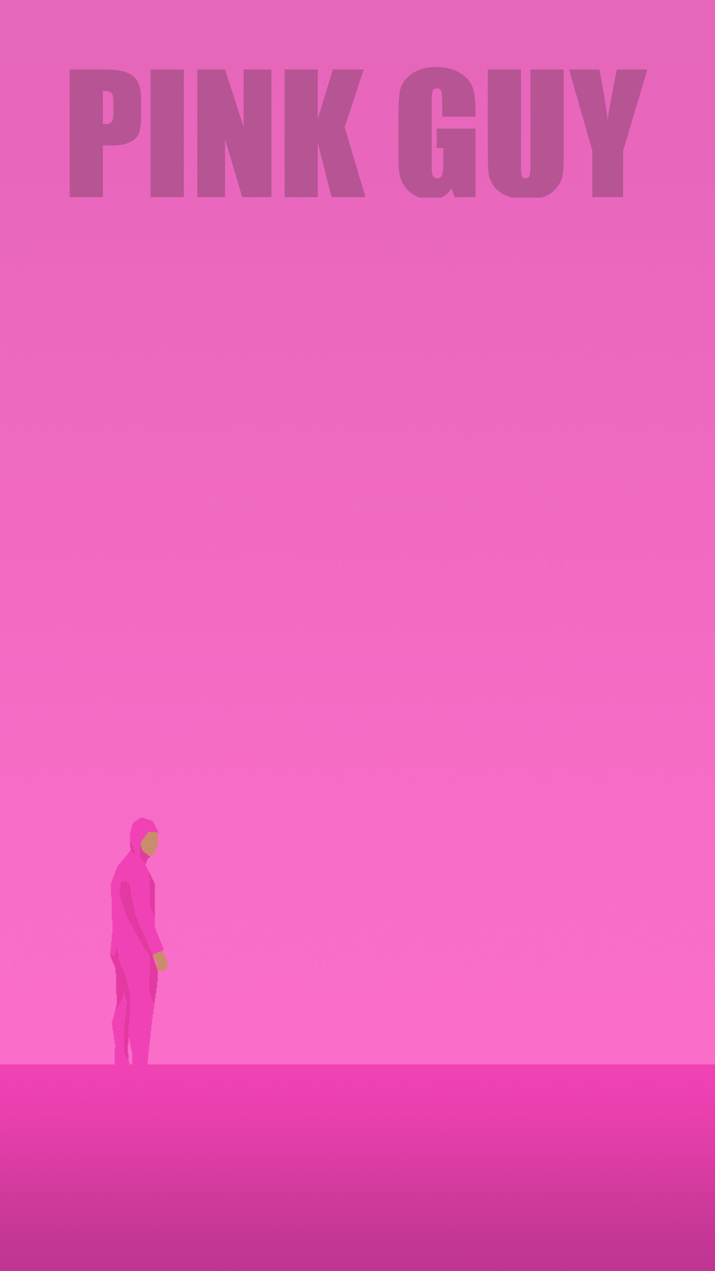 Pink Guy desktop and mobile wallpapers