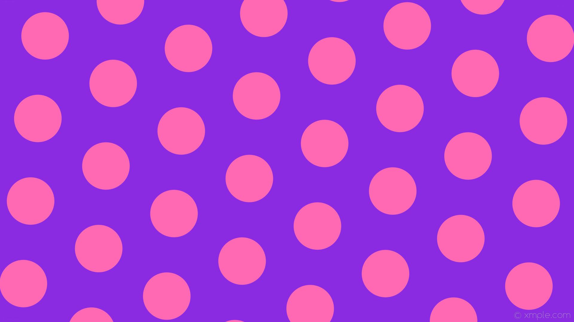 wallpaper hexagon polka pink purple dots blue violet hot pink #8a2be2  #ff69b4 diagonal 25