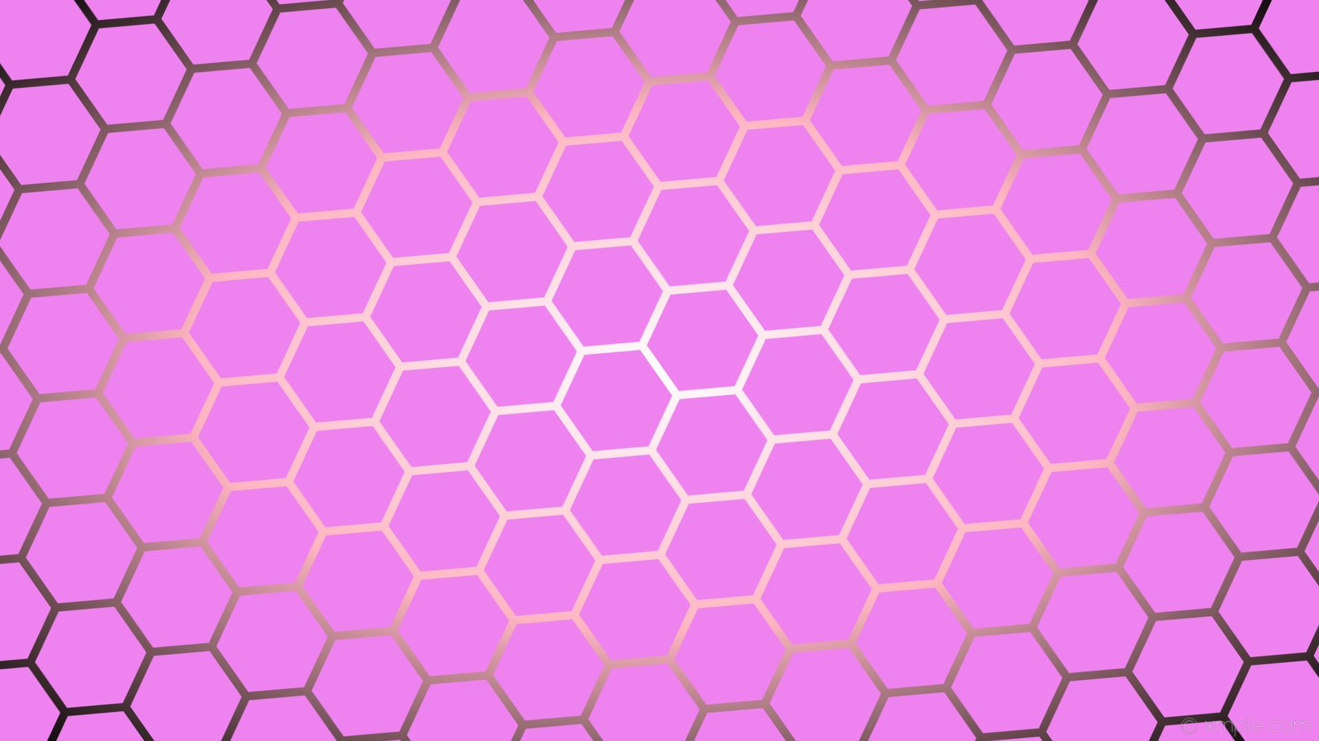 wallpaper purple gradient white glow hexagon black pink violet light pink  #ee82ee #ffffff #