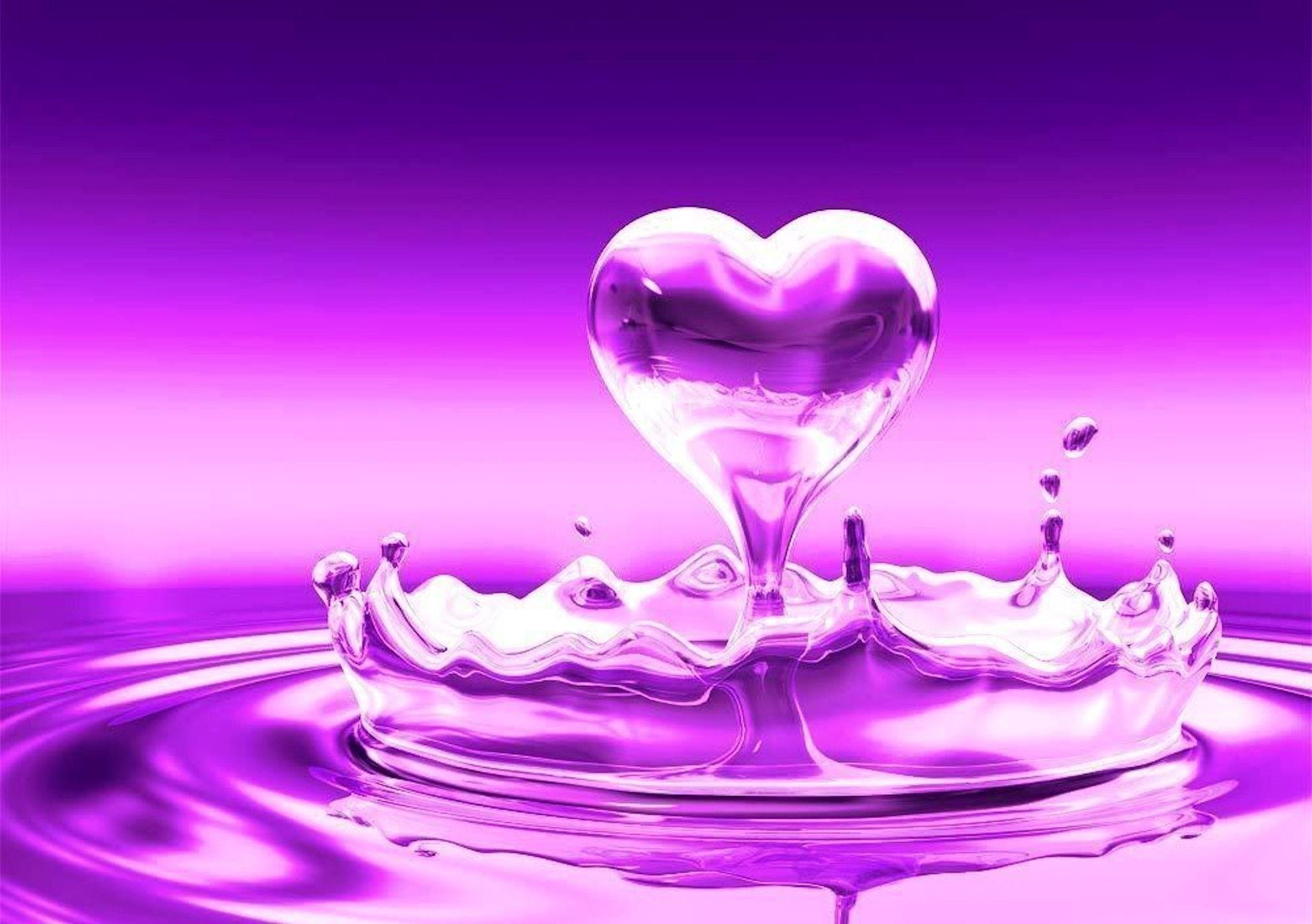 Pix For > Purple Heart Wallpaper Desktop