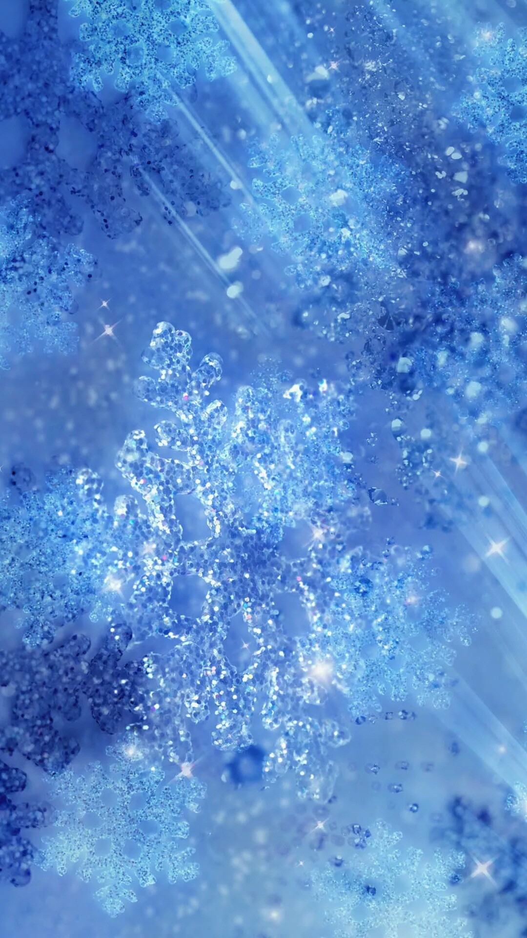 Tap to see more beautiful winter frozen snowflakes iPhone wallpapers,  lockscreen