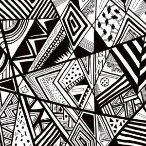 Black and White Swirl
