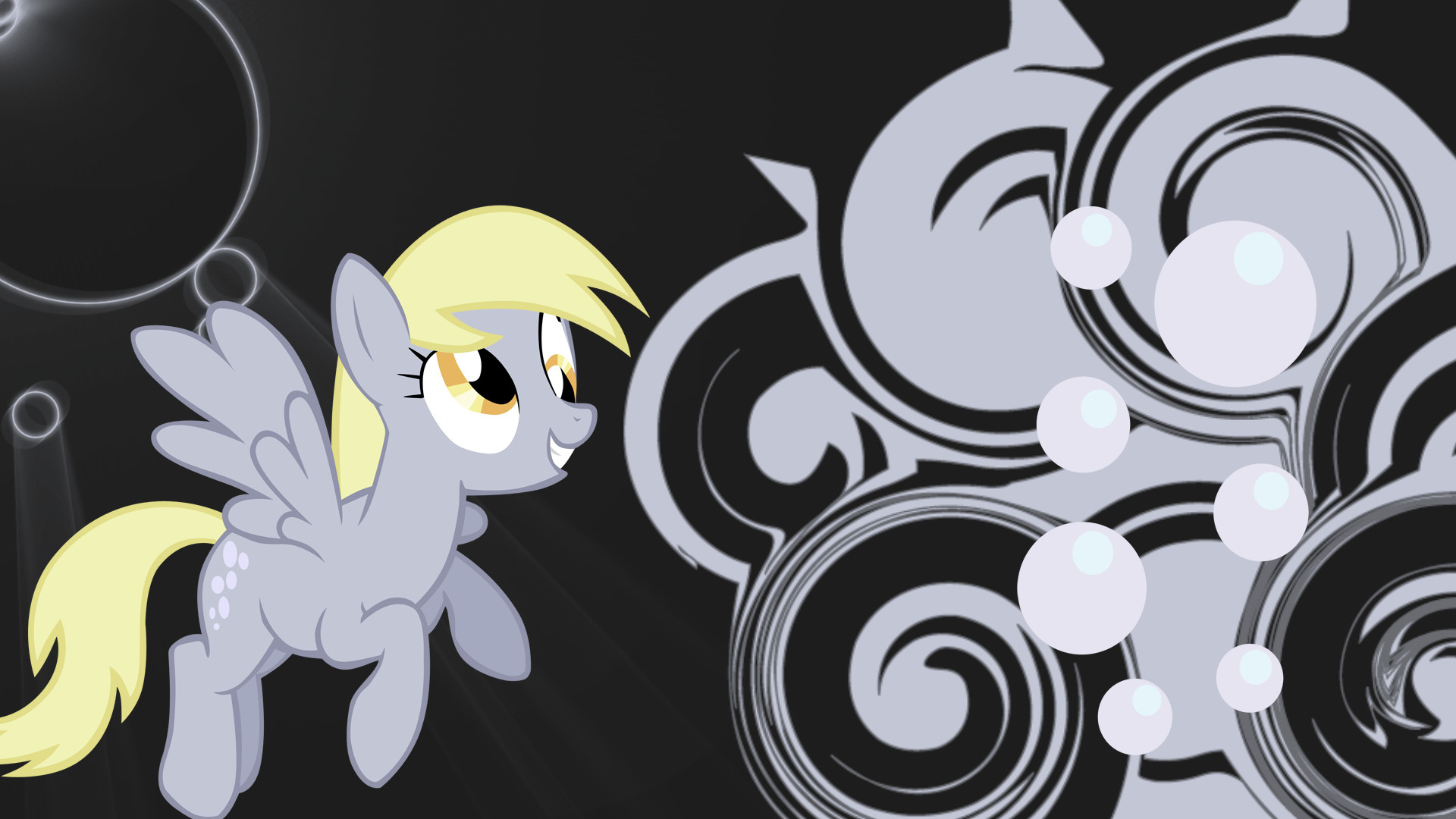derpy hooves swirl and shine wallpaper by sk8pants d4lzxxd