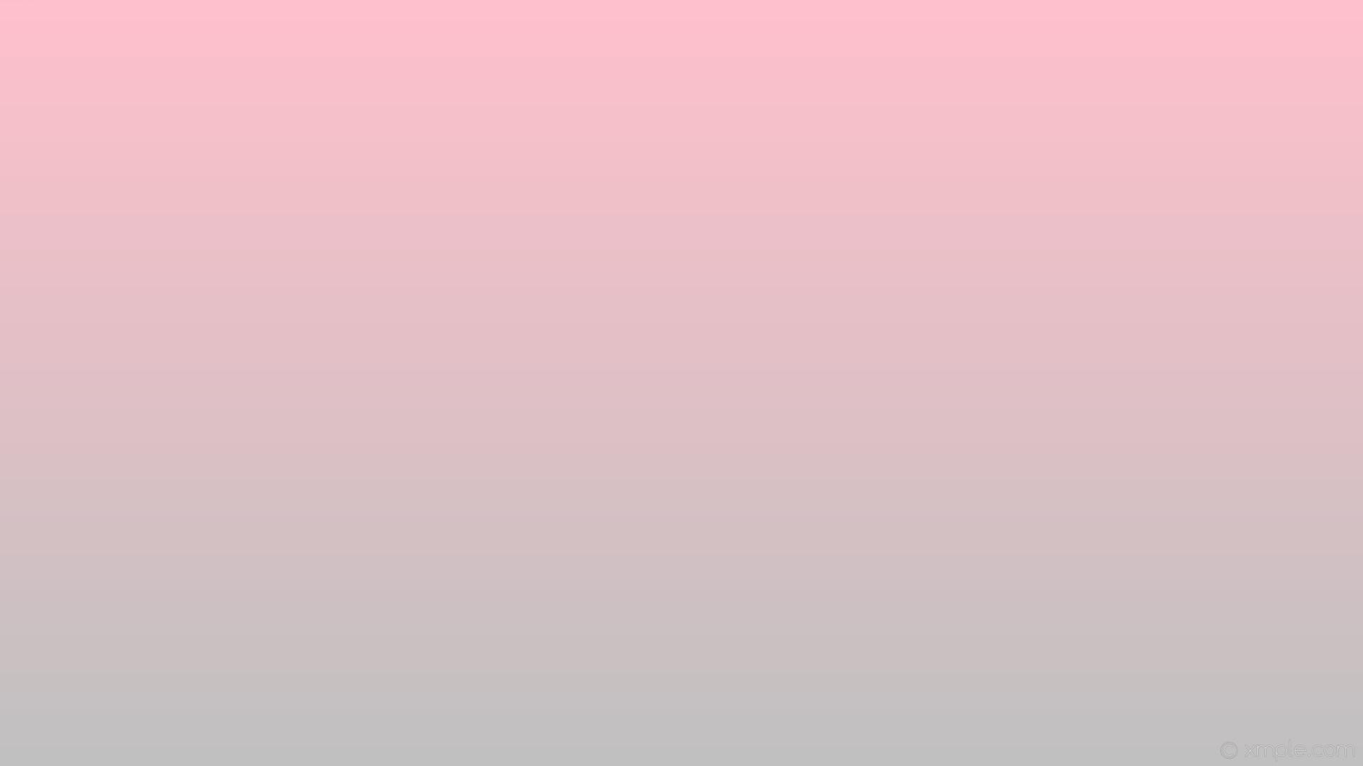 wallpaper pink linear grey gradient silver #ffc0cb #c0c0c0 90°