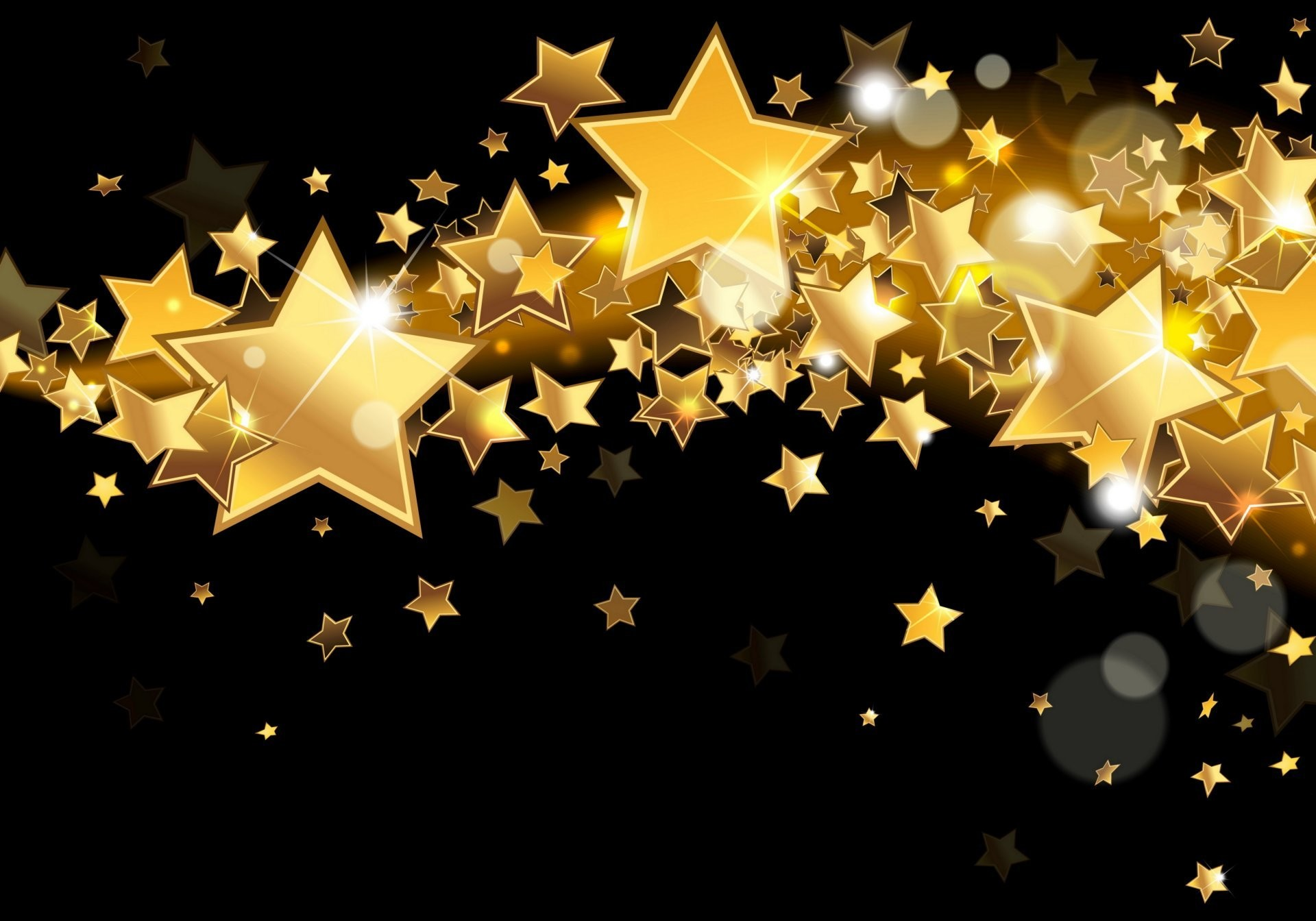 Wallpaper, Gold Star (3457014)